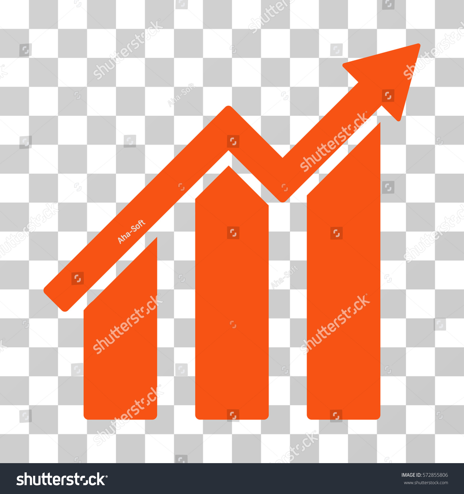 Orange color chart gallery free any chart examples growth chart icon vector illustration style stock vector 572855806 growth chart icon vector illustration style is nvjuhfo Choice Image