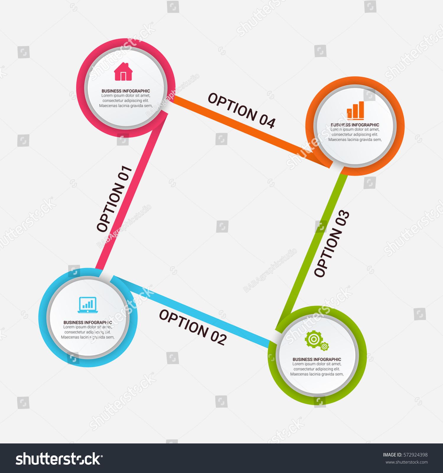 Flowchart Template infographic  Creative Market