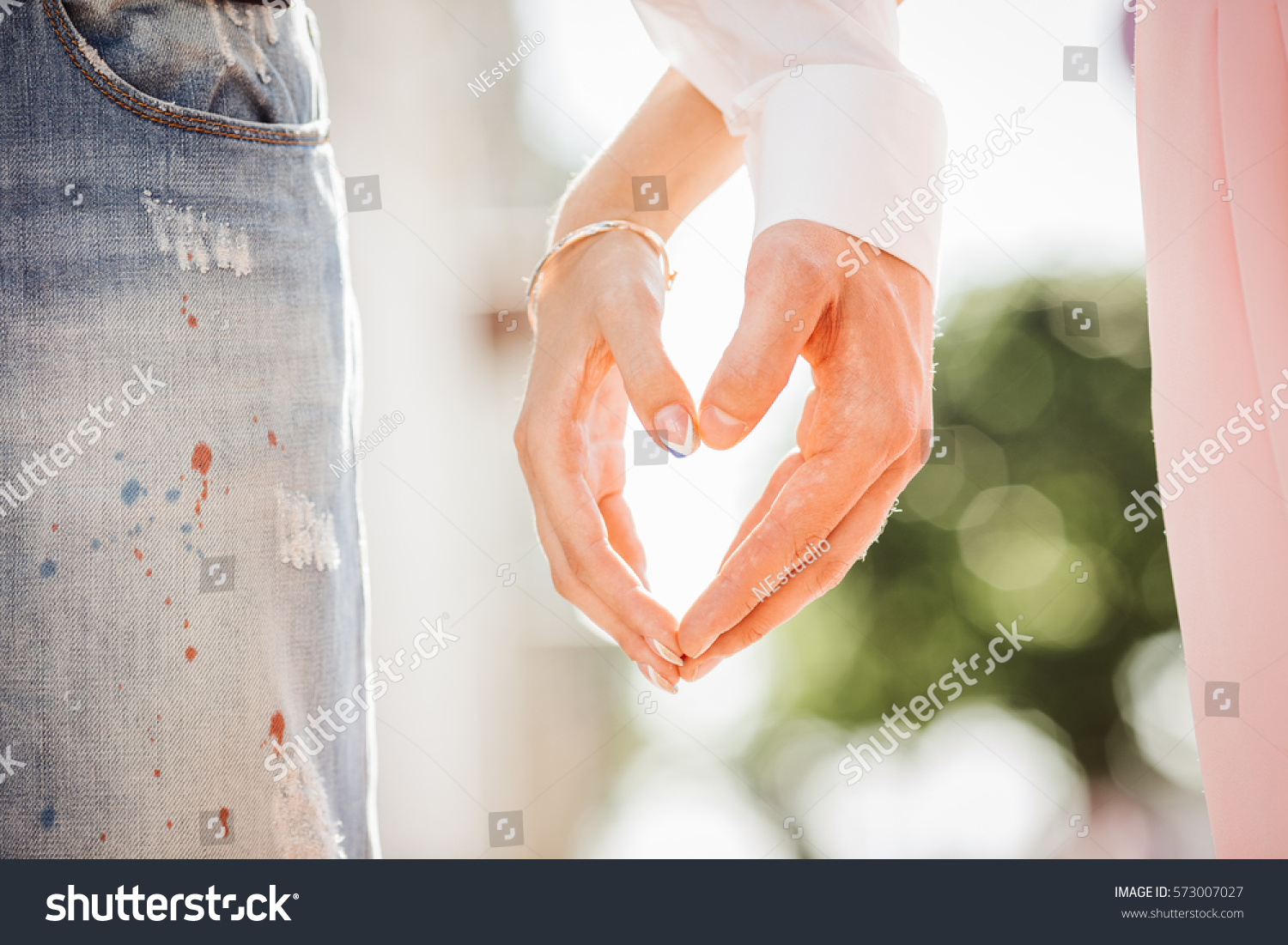 Mans Hand Hold By Girl Hand Stock Photo 573007027 - Shutterstock