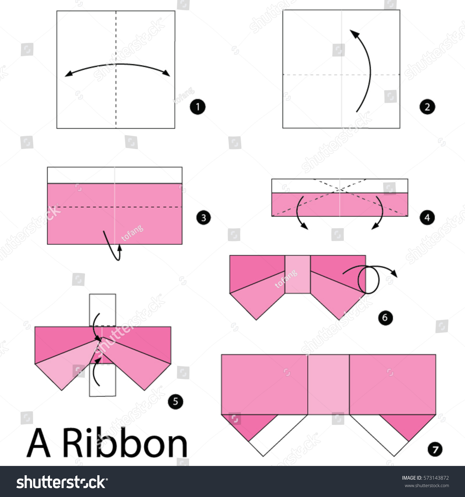Let's create: Paper Bow Tutorial | 1600x1500