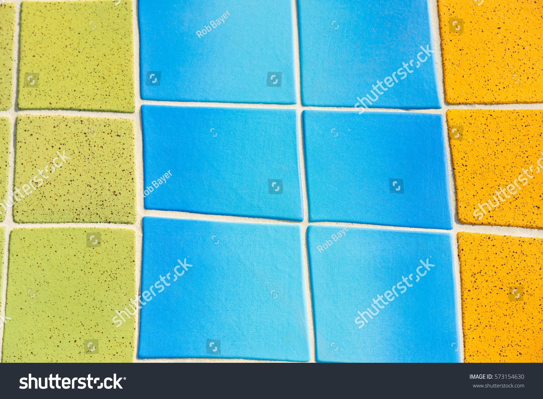 Beautiful Colored Decorative Mosaic Curved Ceramic Stock Photo ...