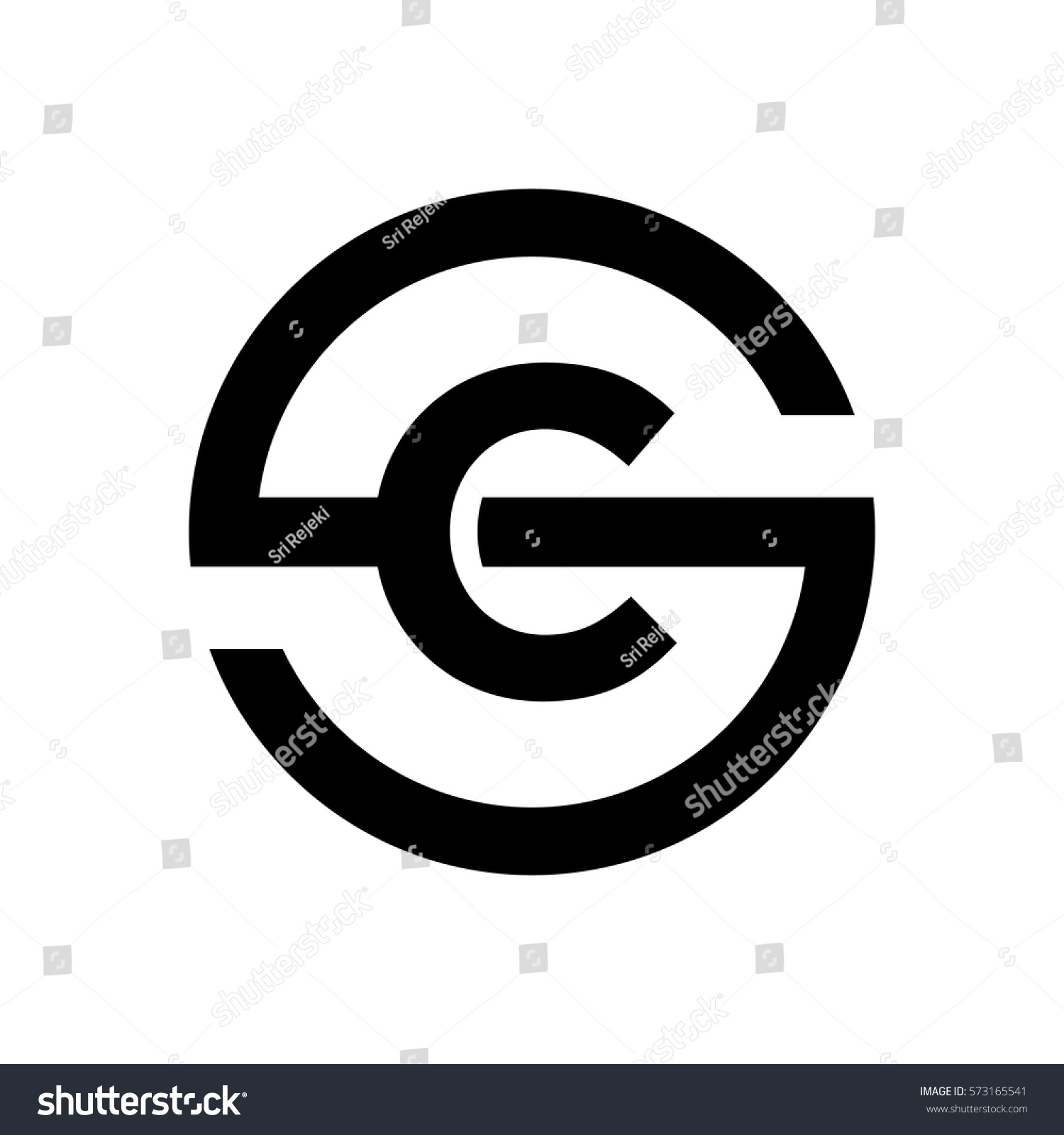 Letter S Symbol Combination C Stock Vector Royalty Free 573165541
