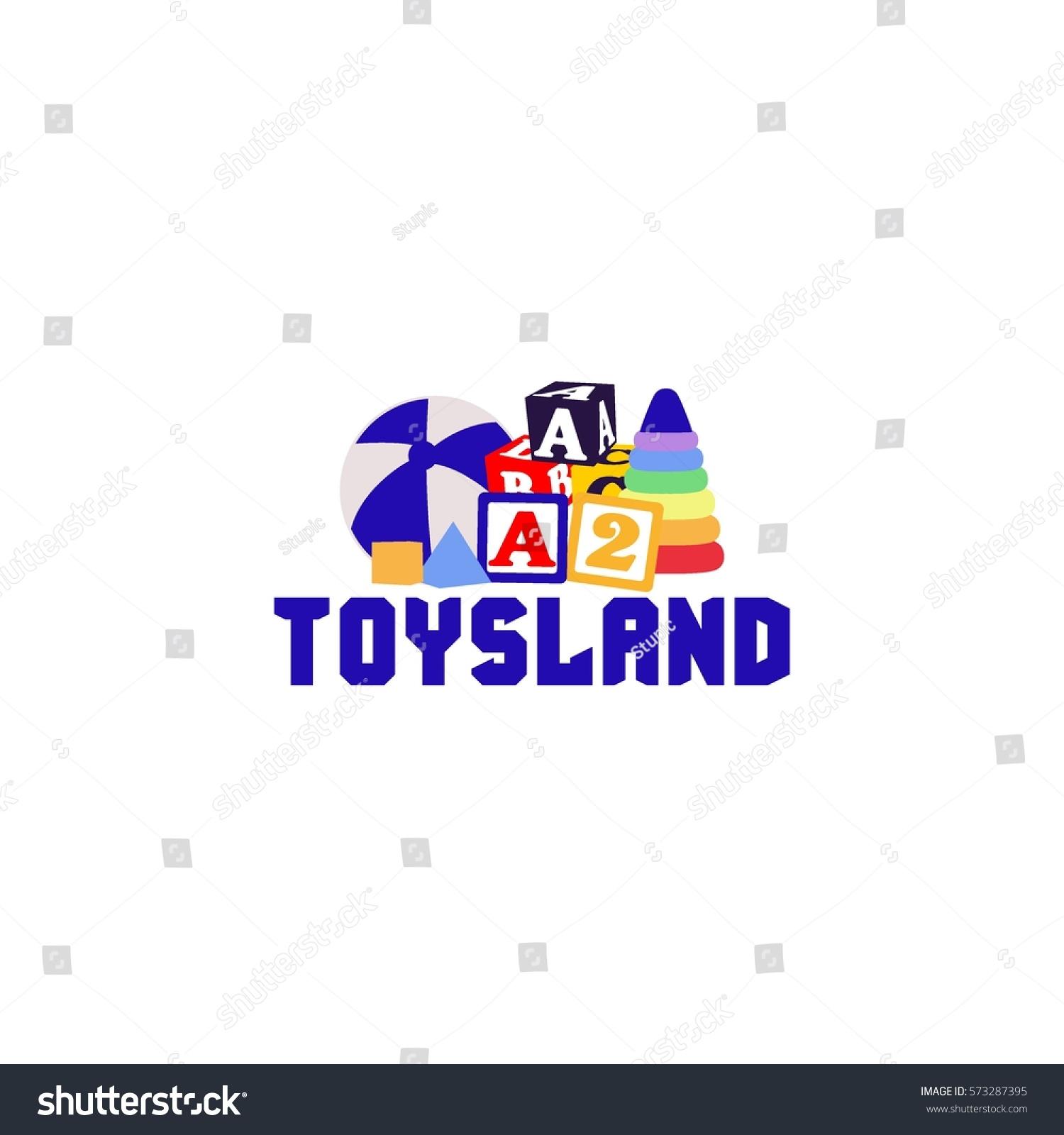 Toys Logo Vector Stock Vector Royalty Free 573287395 Shutterstock