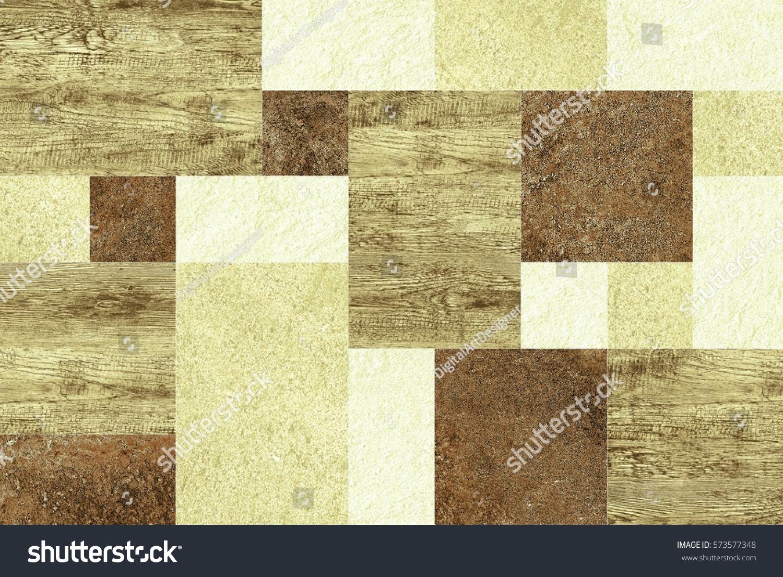 Colorful Vintage Ceramic Tiles Wall Decorationdigital Stock ...