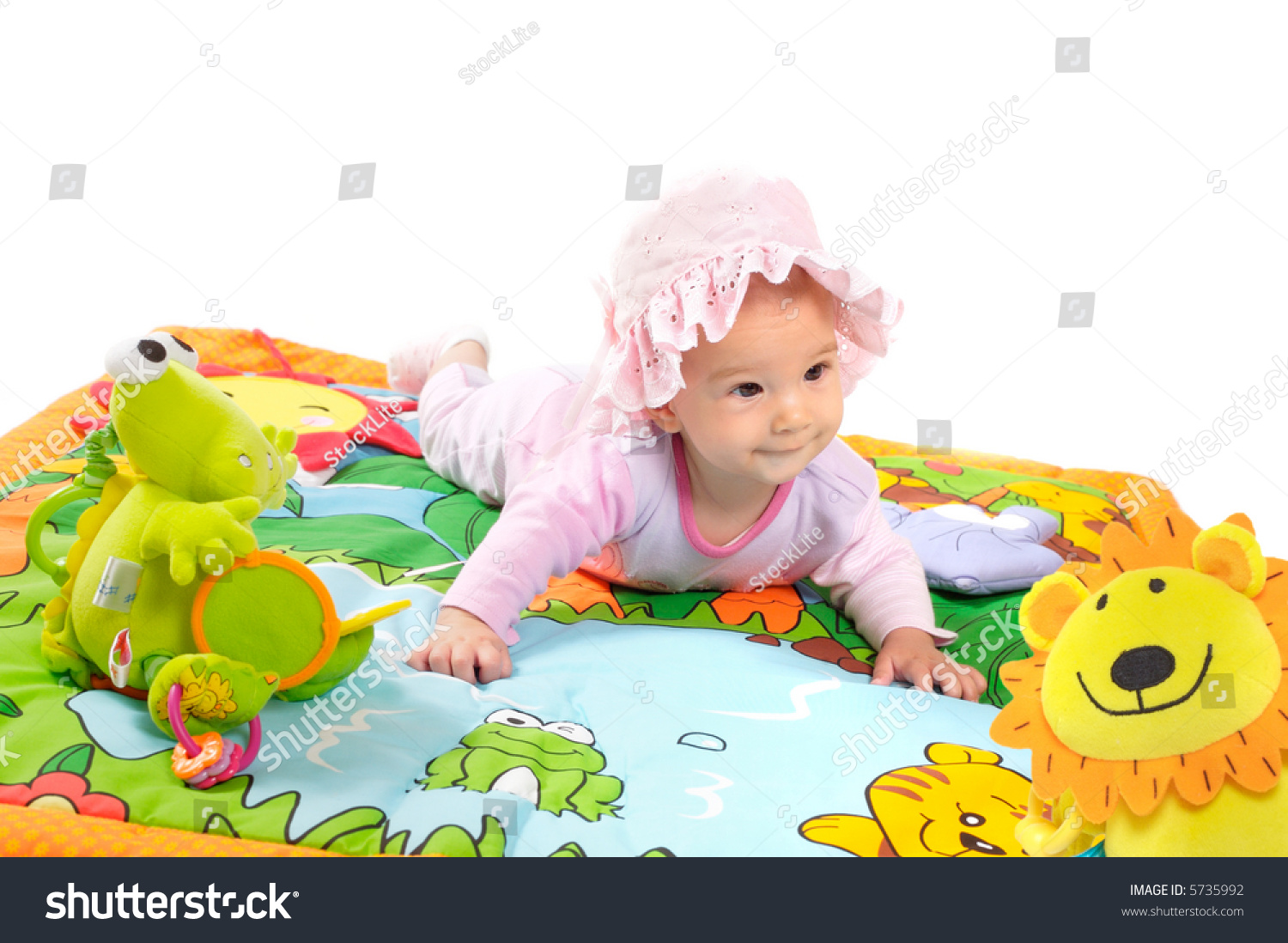 8 Month Old Baby Toys : Months old baby girl enjoy playing with soft toys