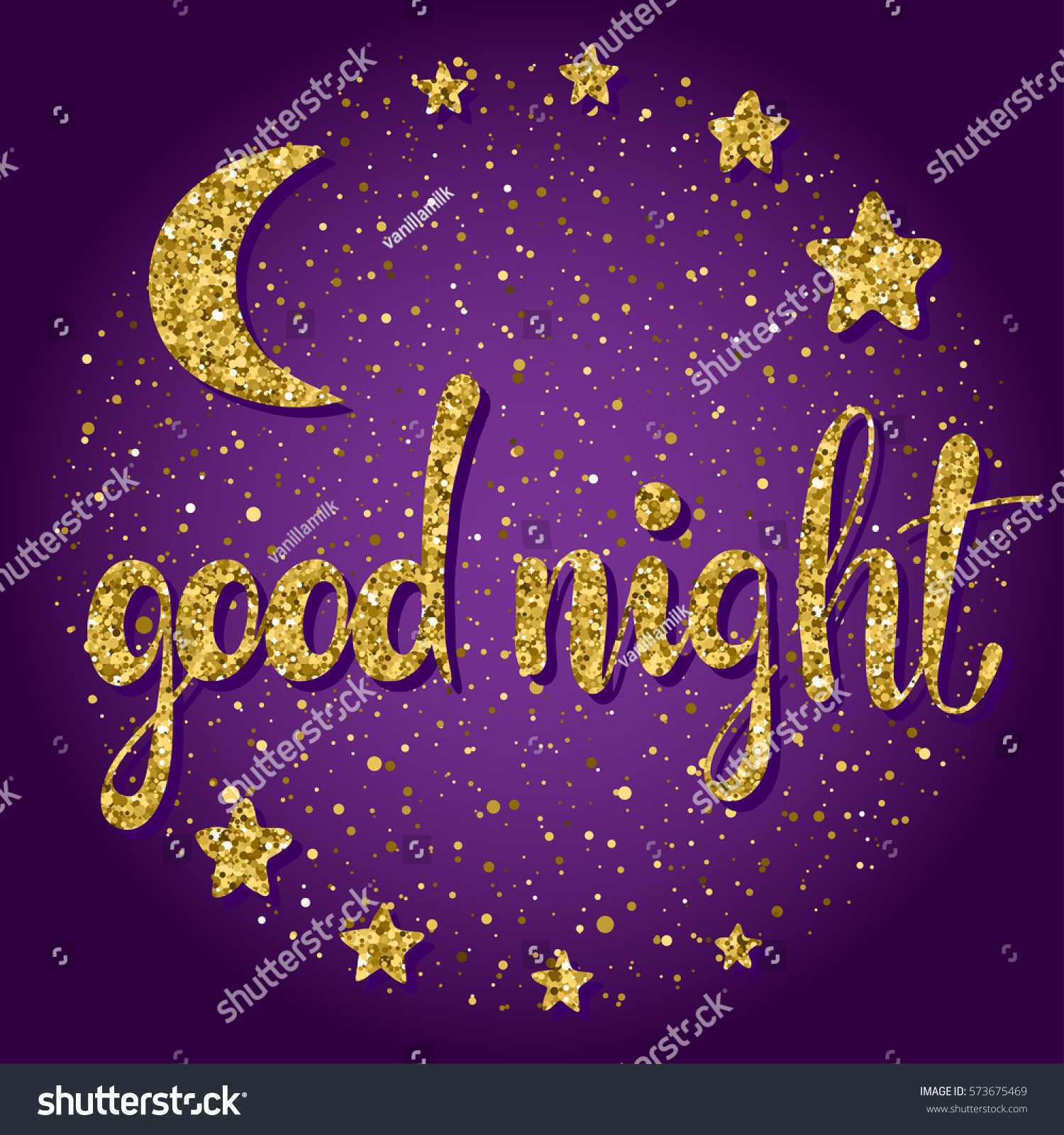 Royalty Free Stock Illustration Of Good Night Sweet Dreams Theme