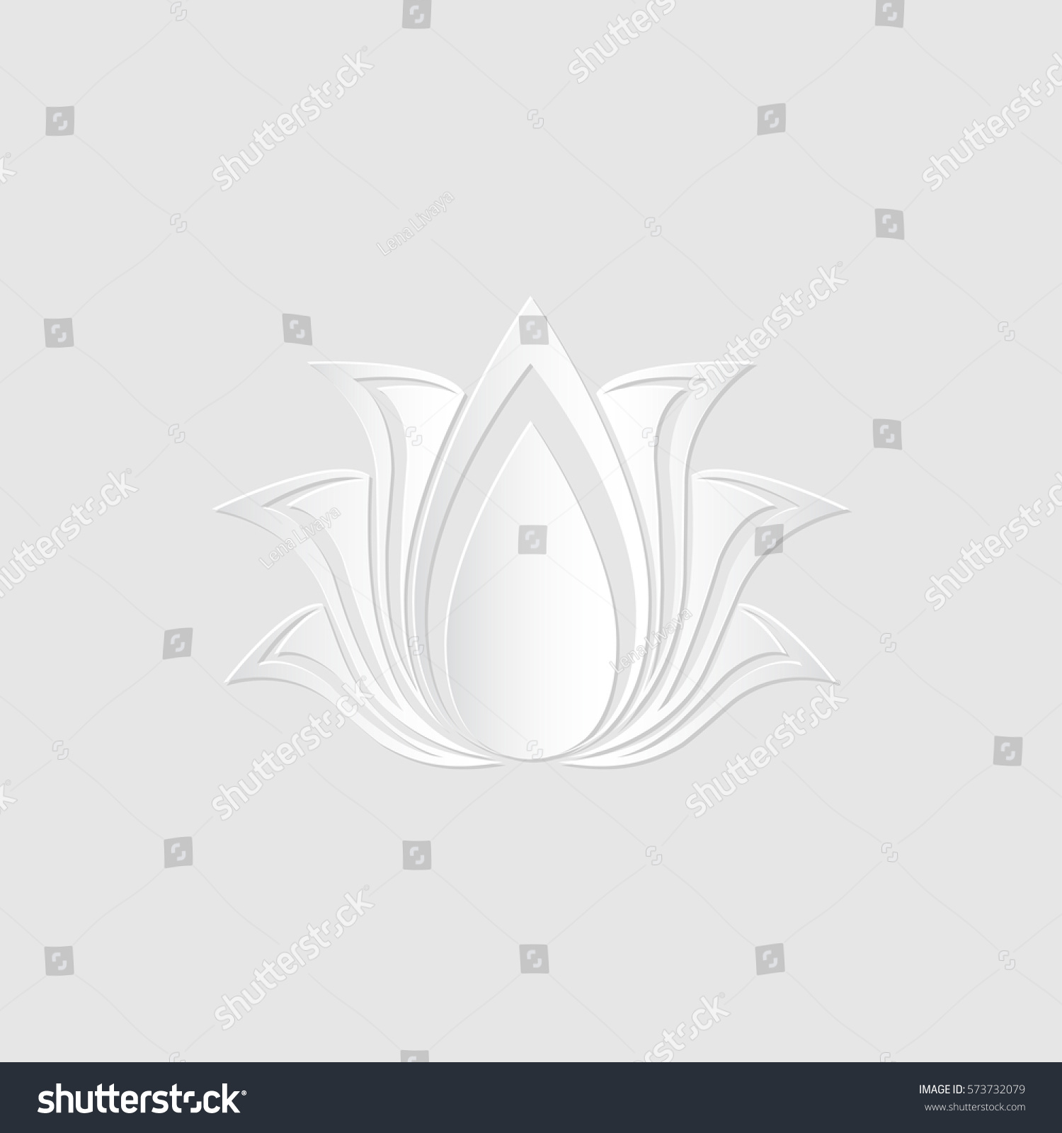 100 lotus flower template stylized lotus flower icon vector lotus flower template abstract vector lotus flower silhouette cut stock vector 573732079 lotus flower template pronofoot35fo Choice Image
