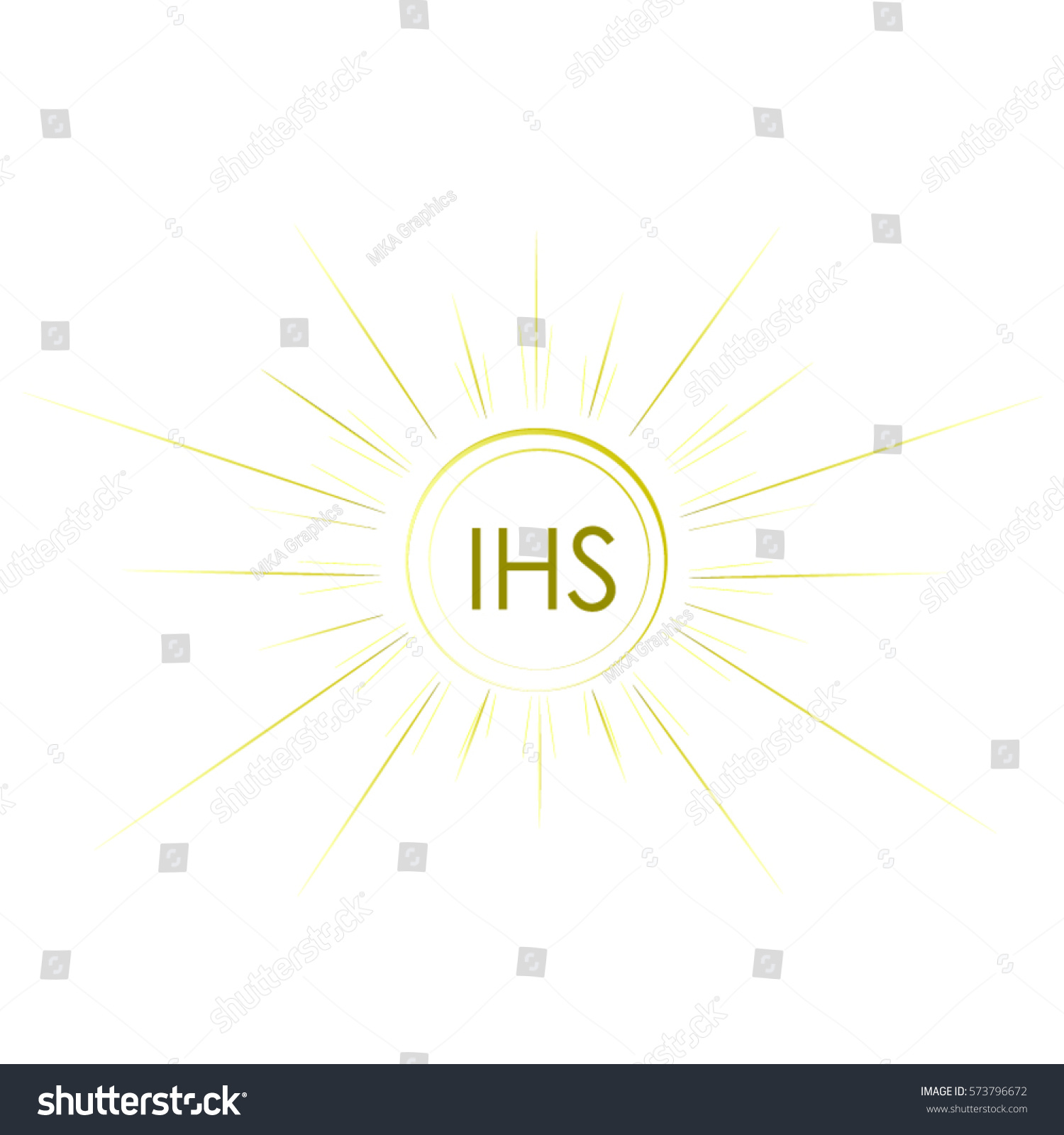 First Communion Symbol Nice Invitation Design Stock Vector Royalty