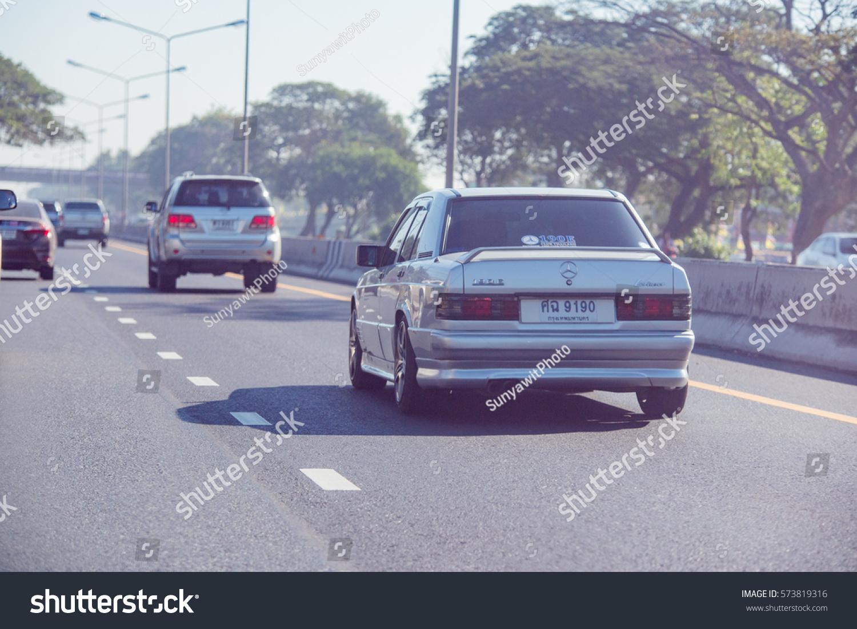 Mercedes Benz Rally Nakhon Ratchasima Thailand Stock Photo (Download ...