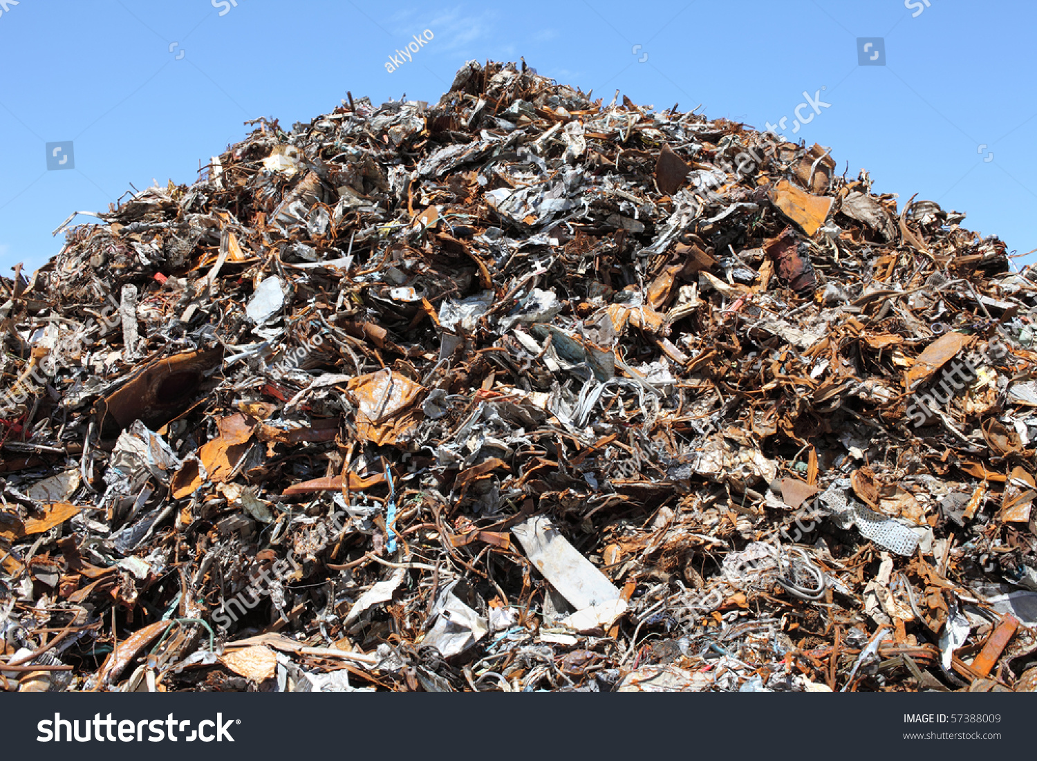 Junk Yard Stock Photo 57388009 - Shutterstock