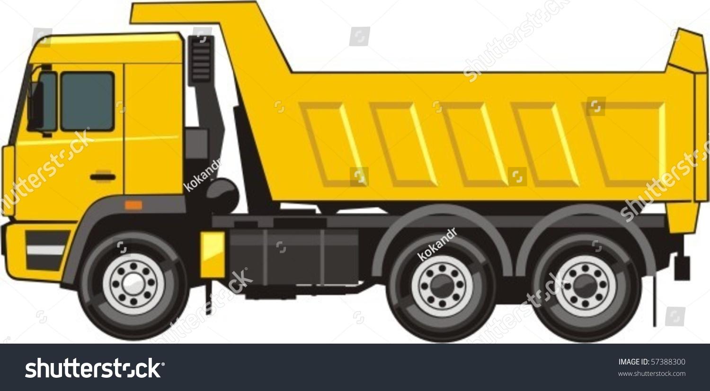 dump truck transportation soil stock vector 57388300 shutterstock