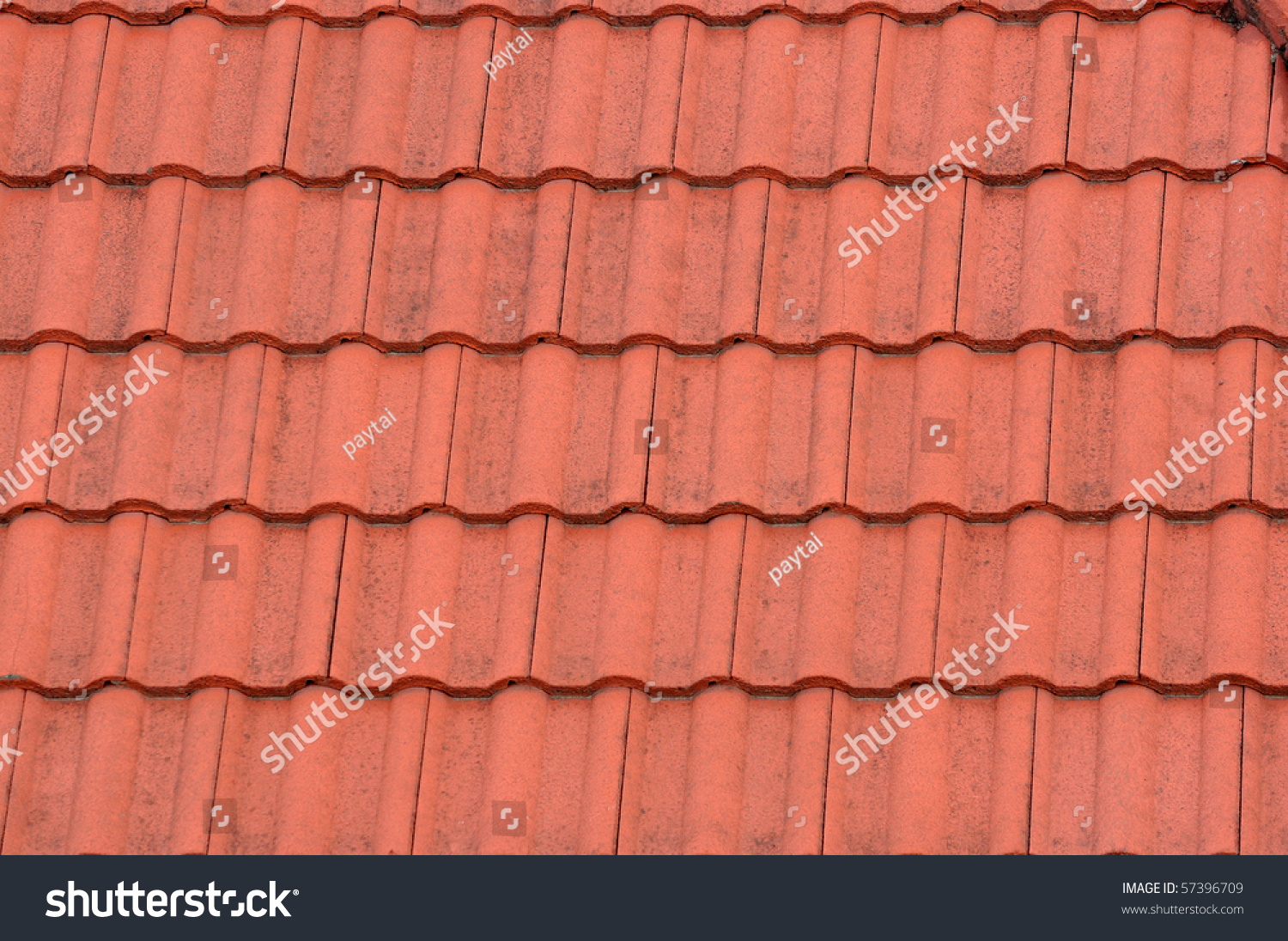 A roof tile pattern texture stock photo 57396709 for Roof tile patterns
