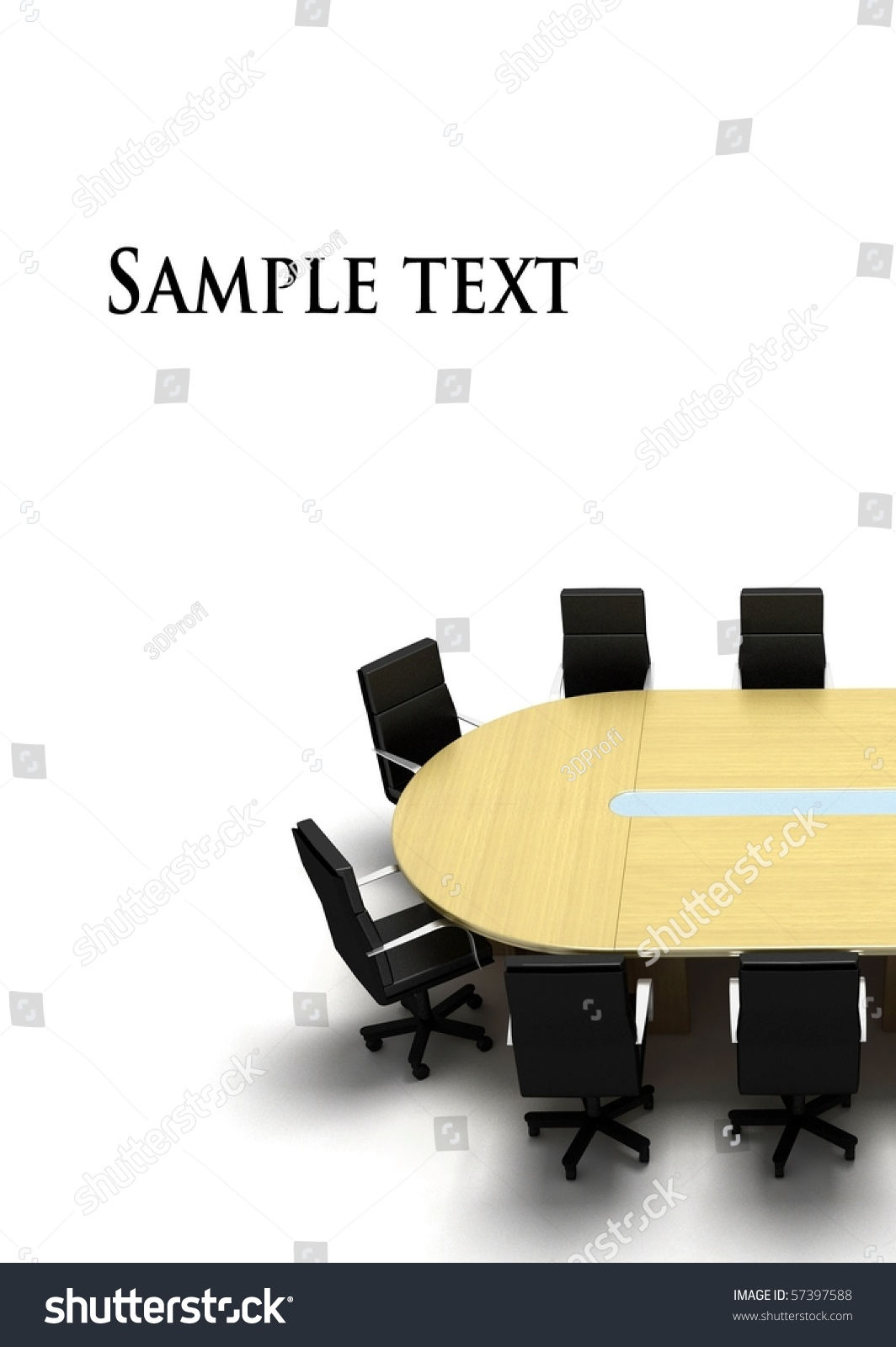 Conference Table Stock Shutterstock #0: stock photo conference table