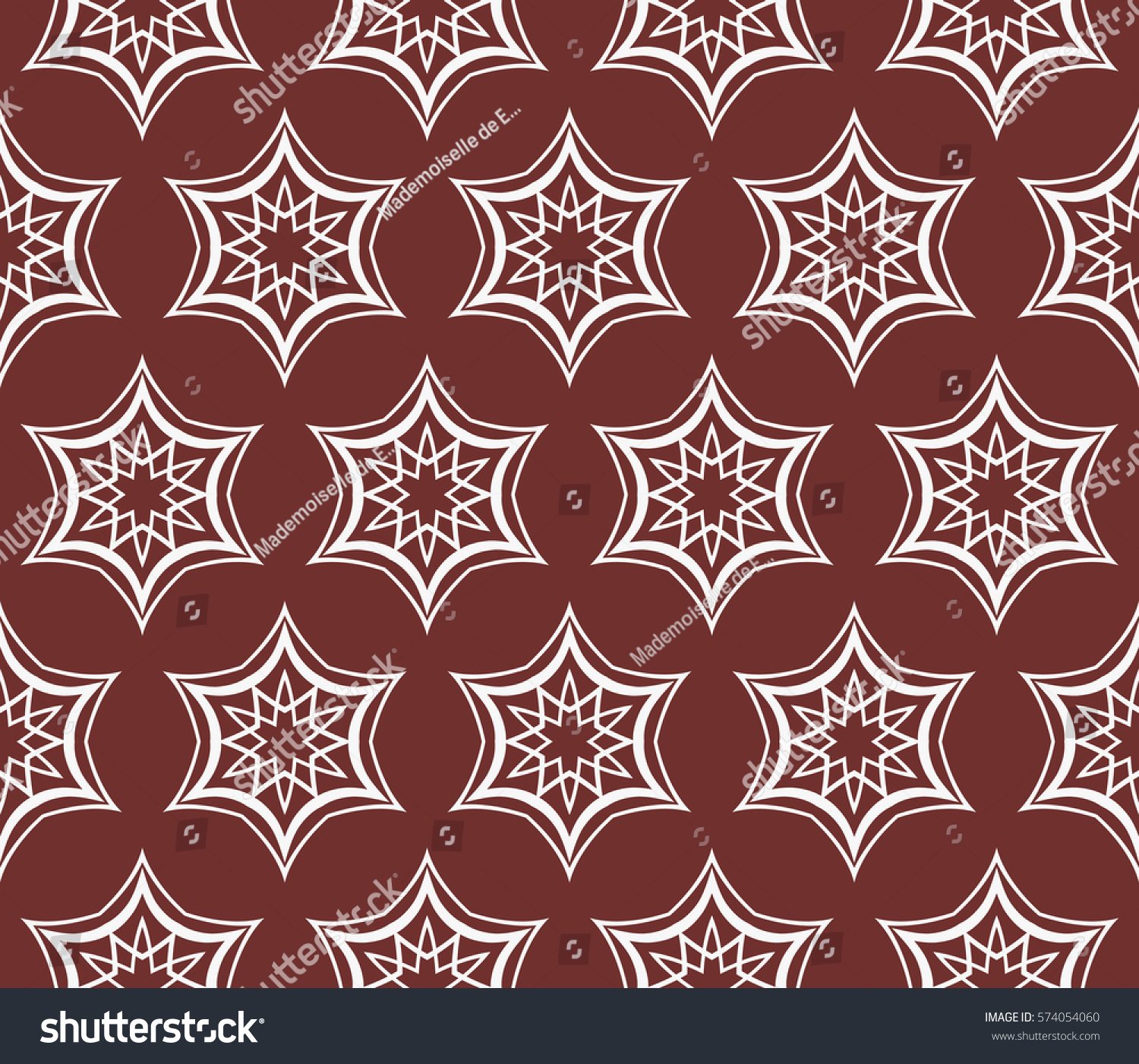 seamless floral geometric patterns. Texture for holiday cards ...