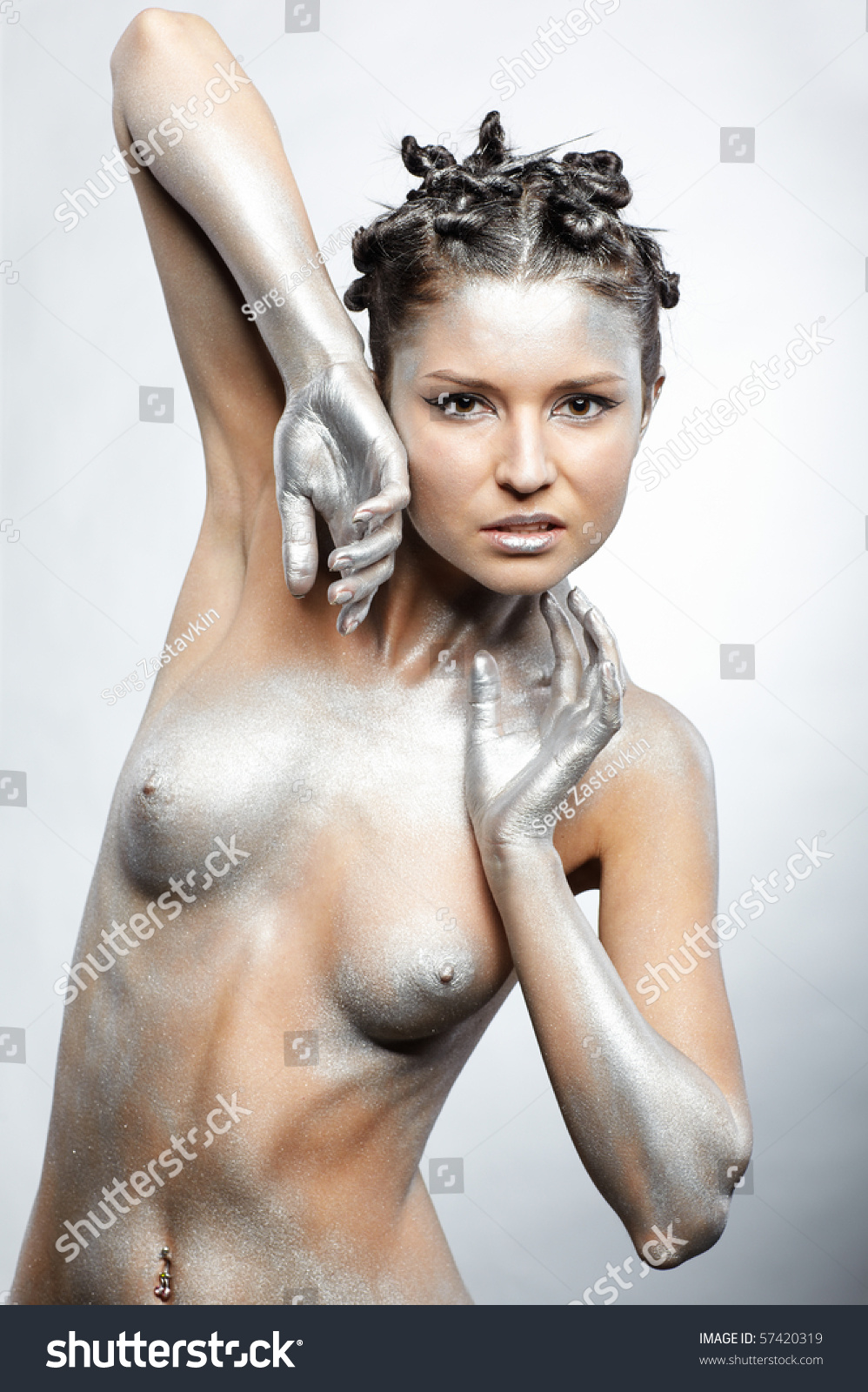 Where Photos silver nude females realize