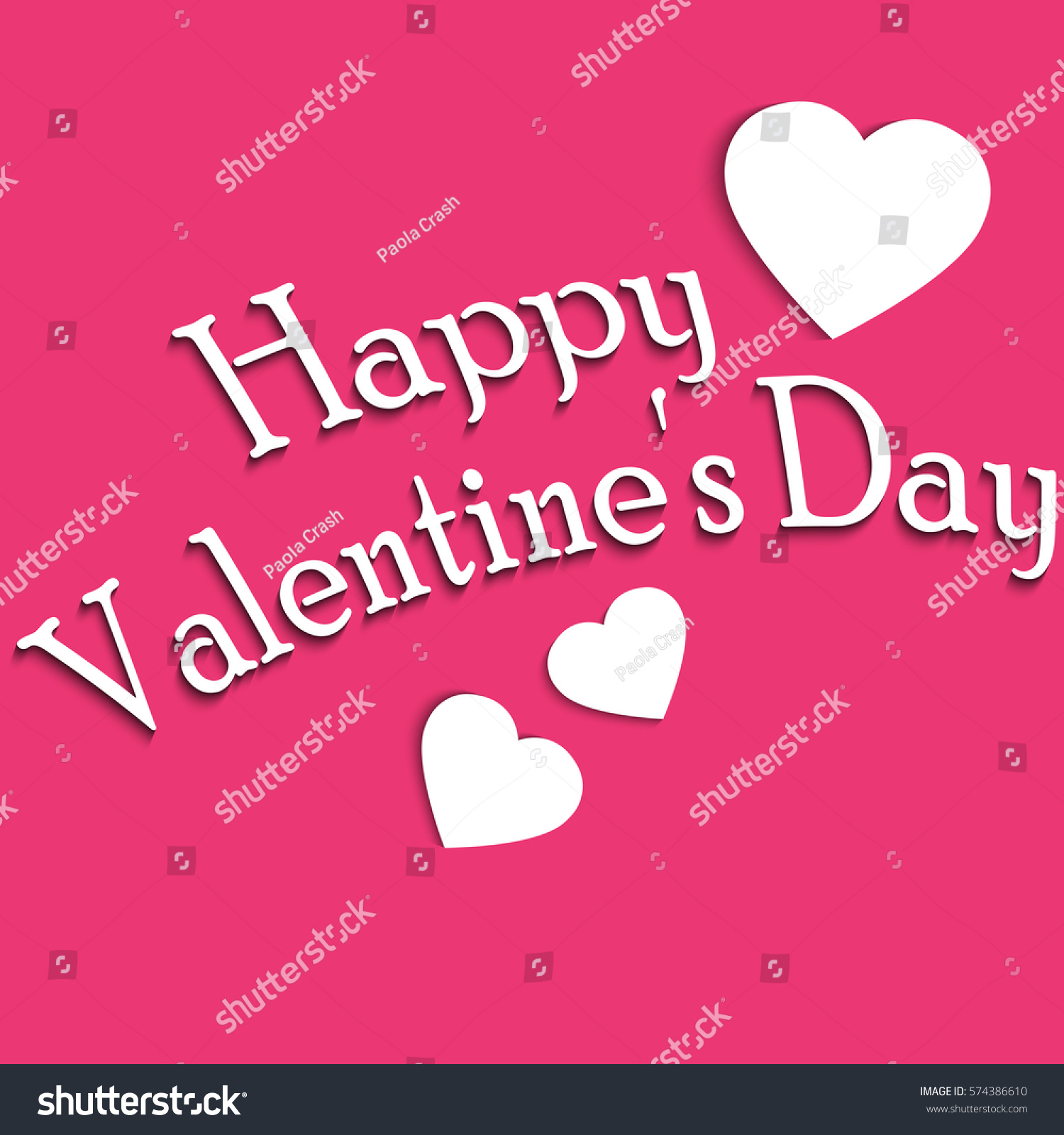 Caption greetings happy valentines day on stock illustration caption greetings happy valentines day on pink background kristyandbryce Choice Image