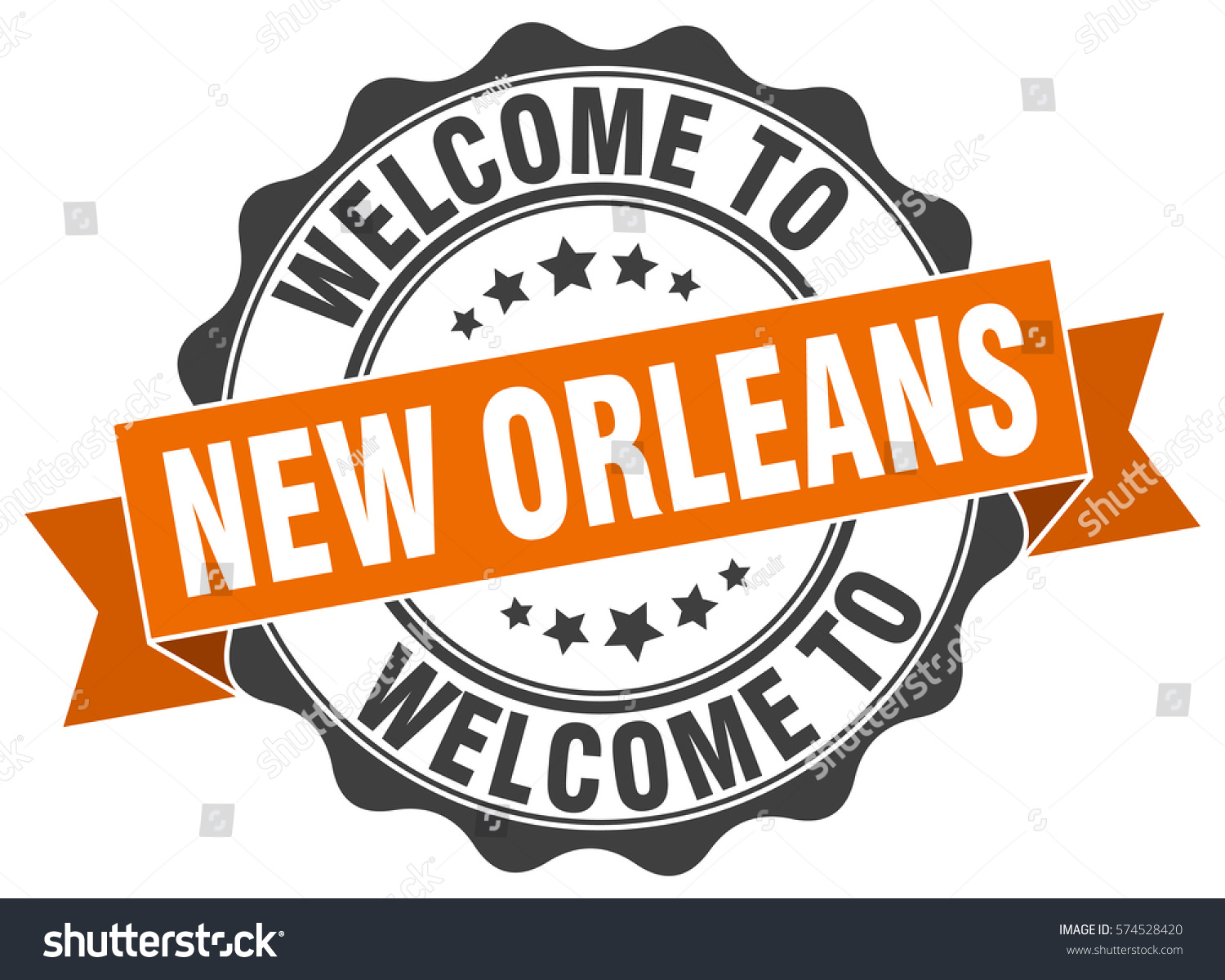 New orleans welcome new orleans stamp stock vector 574528420 new orleans welcome to new orleans stamp buycottarizona Images