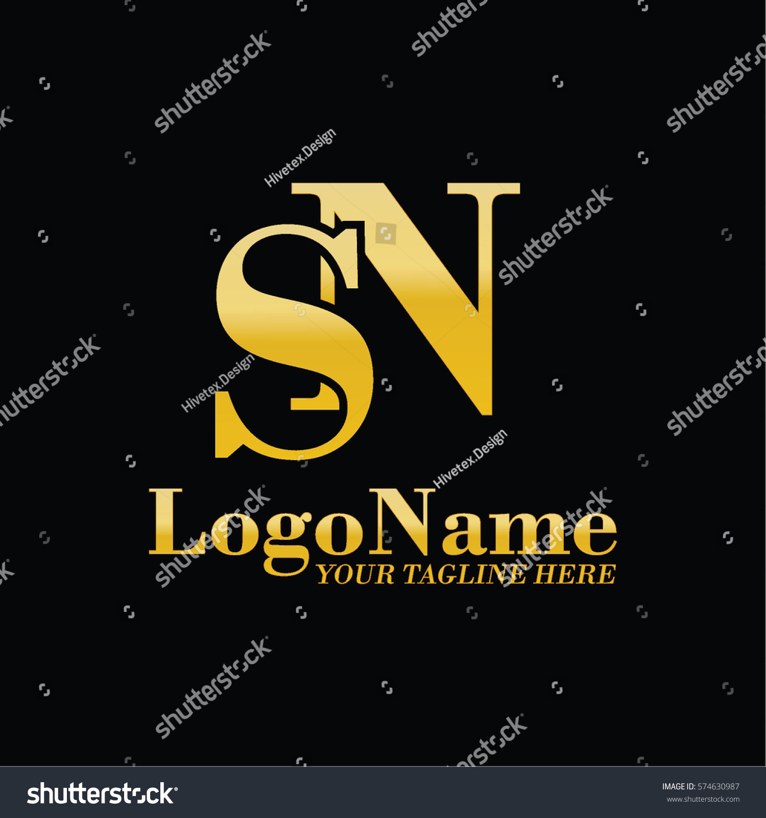 Sn logo stock vector 574630987 shutterstock sn logo biocorpaavc Image collections