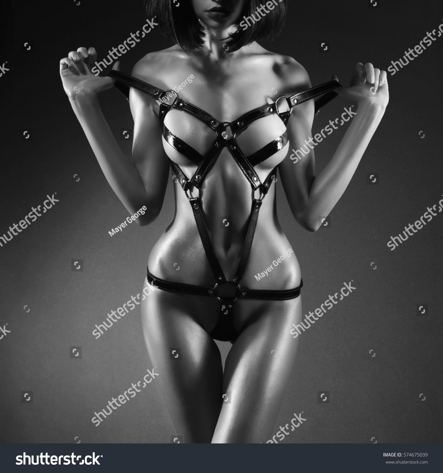 Mallit strippaus alaston