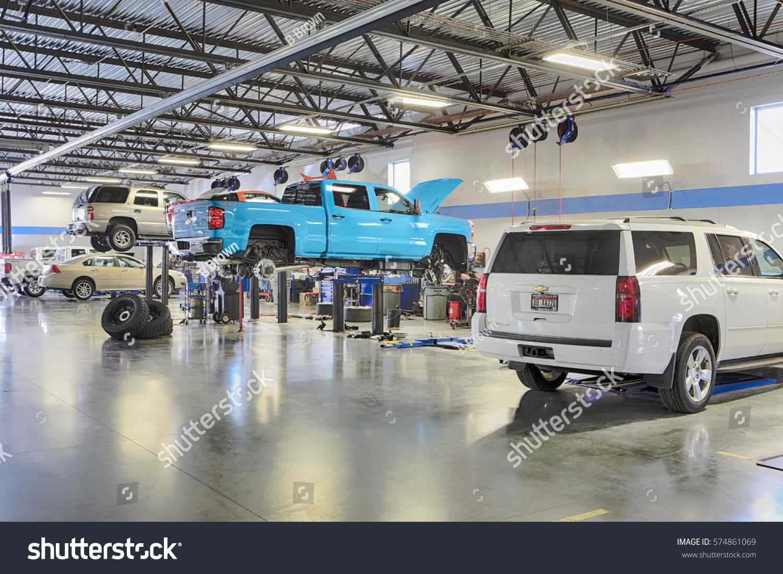 Car interior maintenance - Idaho Falls Idaho Usa Sep 28 2016 The Interior Of A