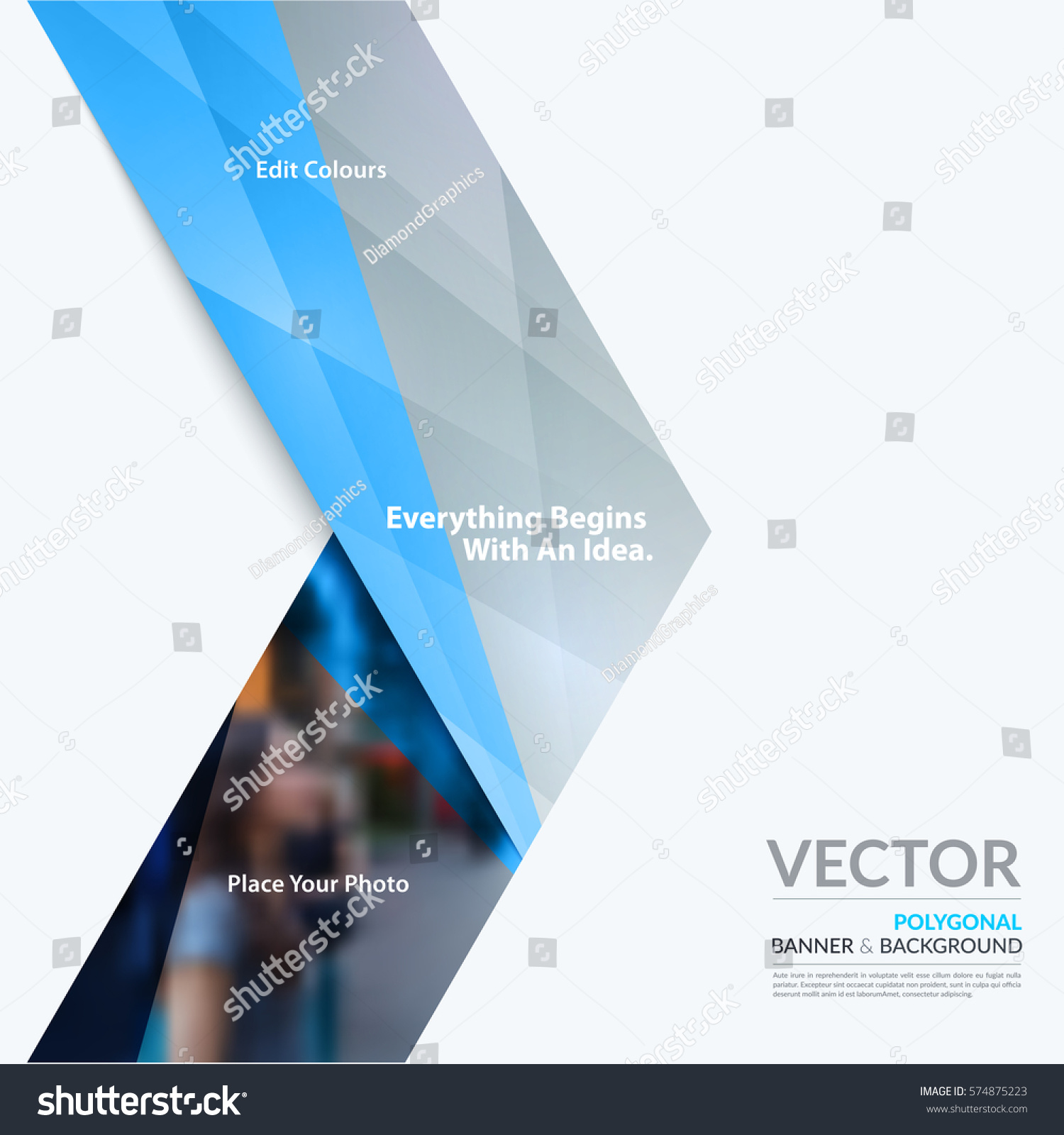 Business vector design elements graphic layout stock vector royalty business vector design elements for graphic layout modern abstract background template with grey arrows accmission Image collections