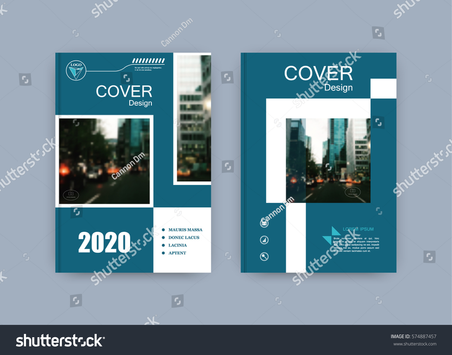 Creative Book Cover Images ~ Creative book cover design abstract composition stock