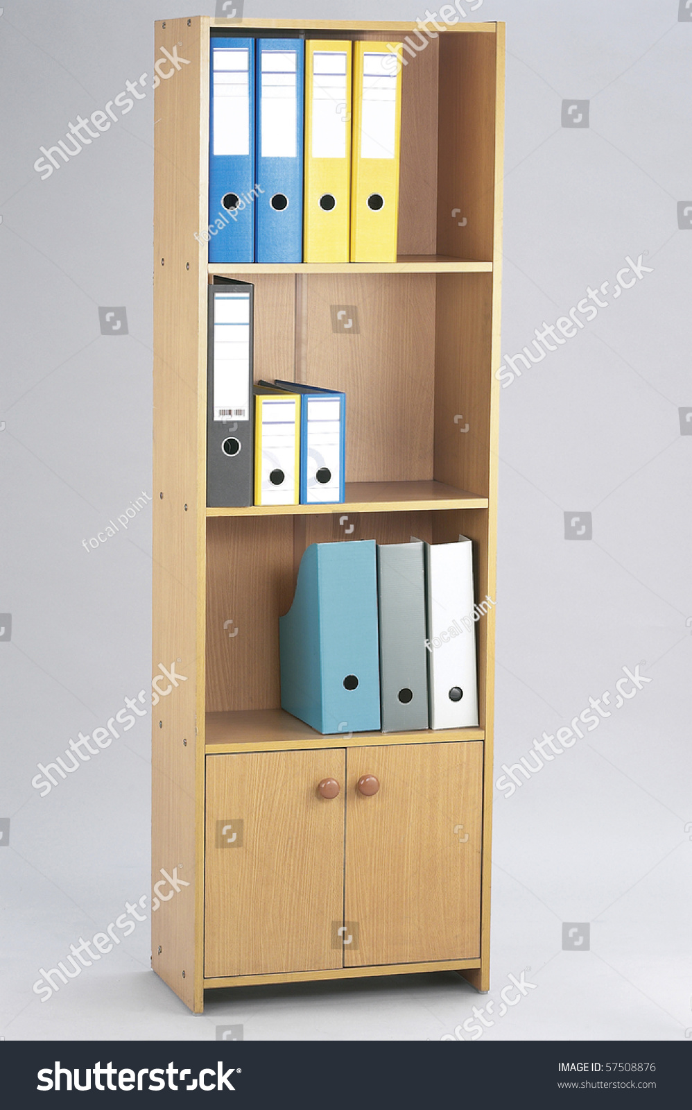 Office Folders Shelf Organizer Stock Photo Shutterstock