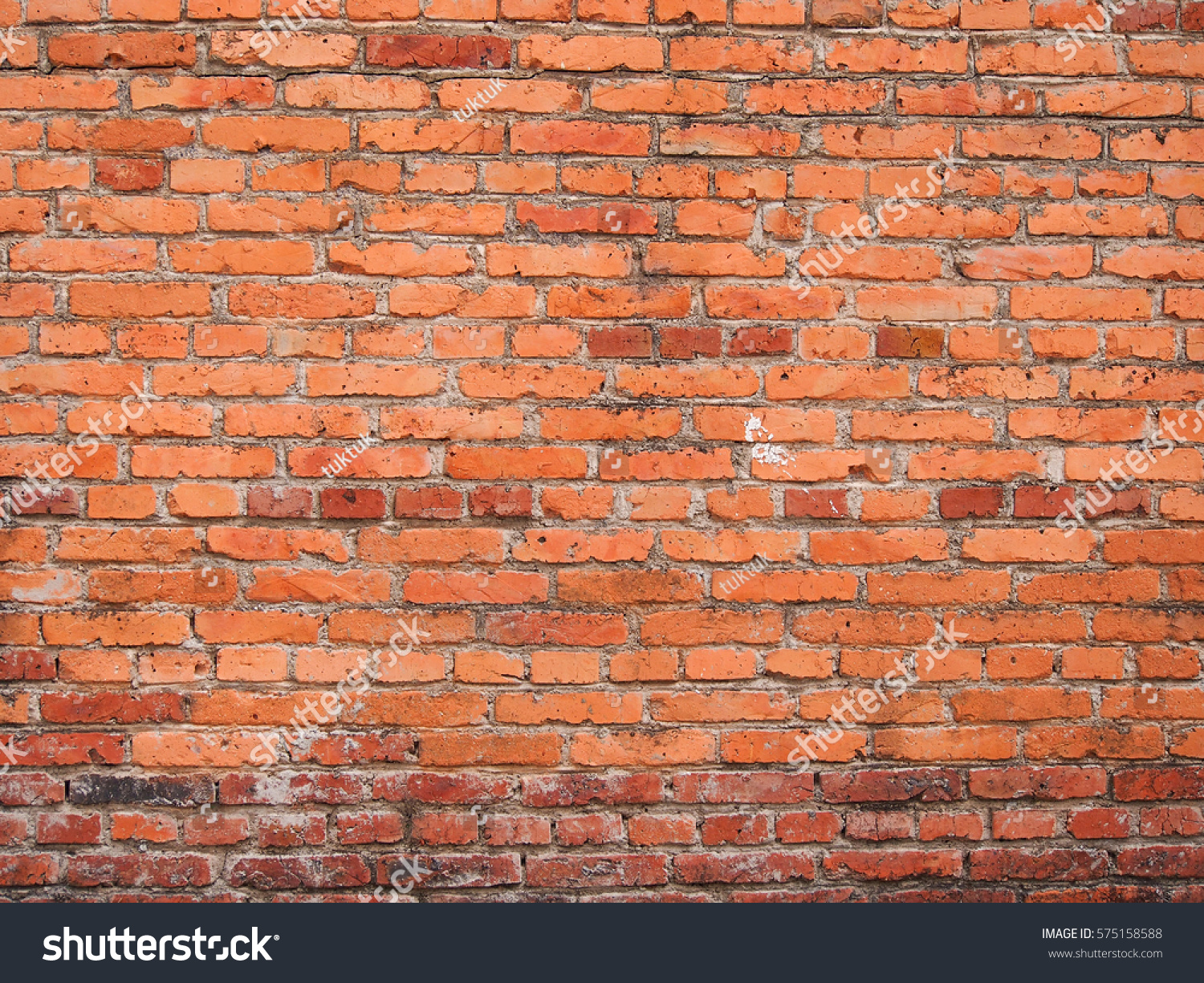 Wallpaper red brick wall texture grunge stock photo 575158588 shutterstock for Brick wallpaper interior design