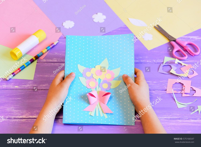 Детская открытка на Новый год 2018 своими руками 30