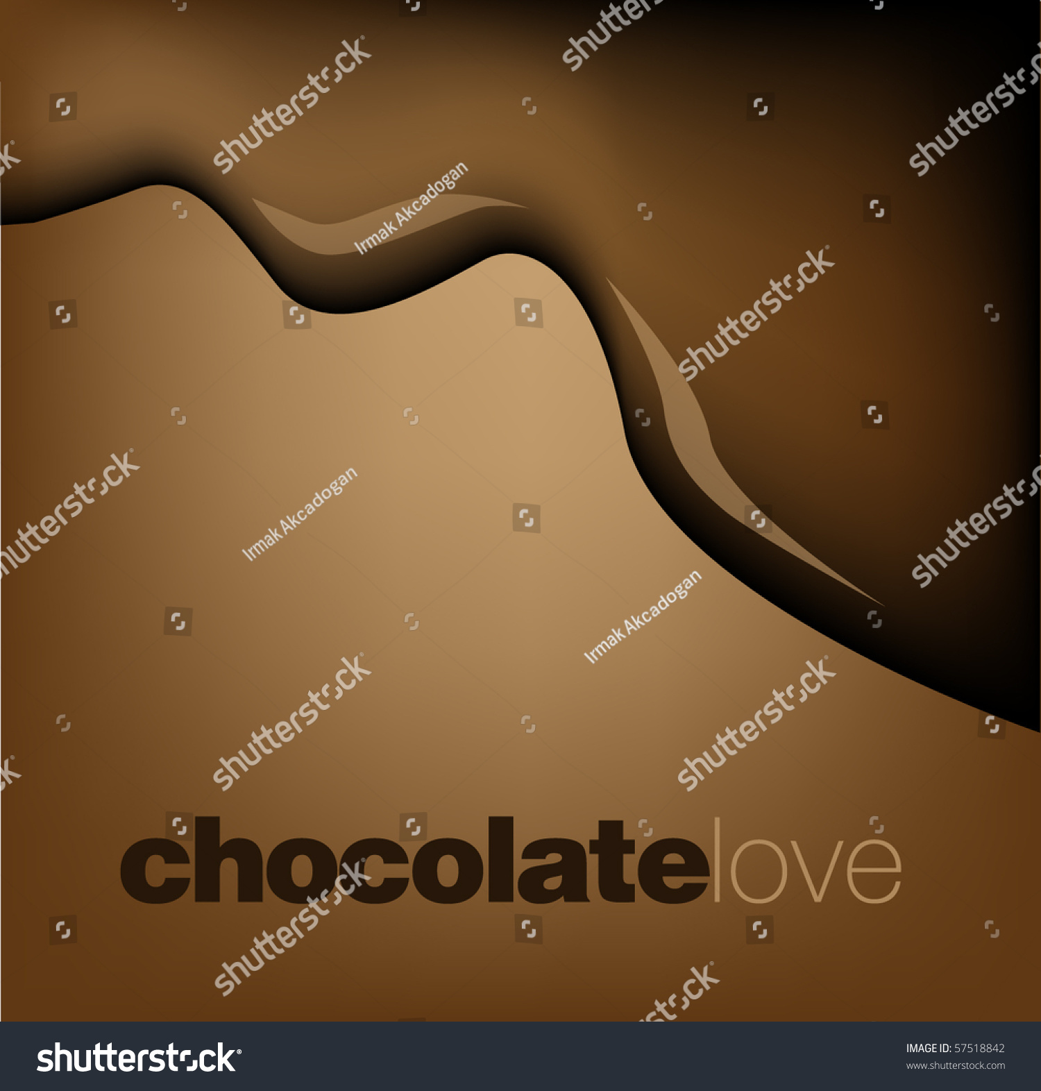 Chocolate Drop Stock Vector 57518842 - Shutterstock