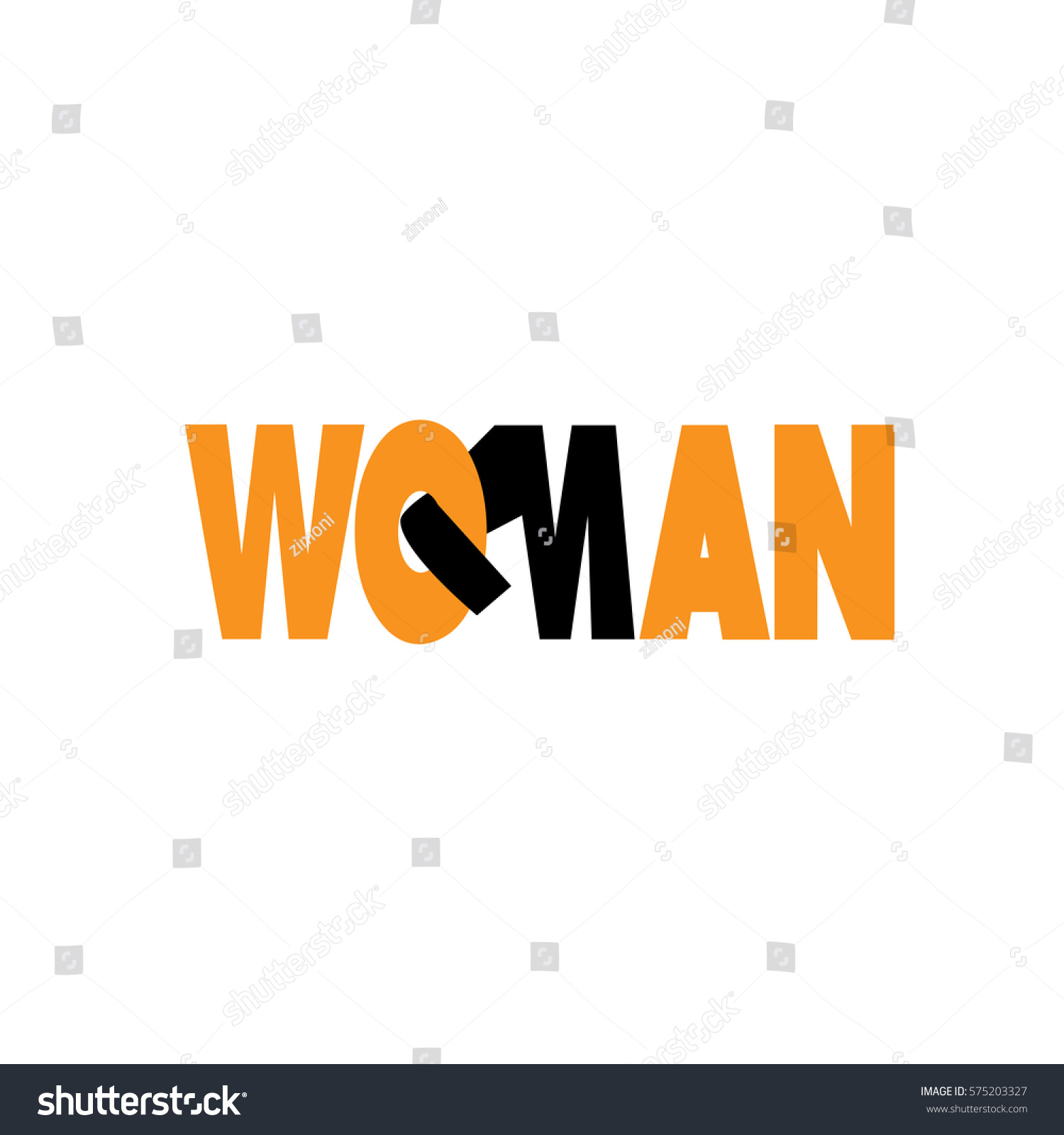 Symbol international womens day equal rights stock vector symbol international womens day equal rights for men and women buycottarizona Image collections