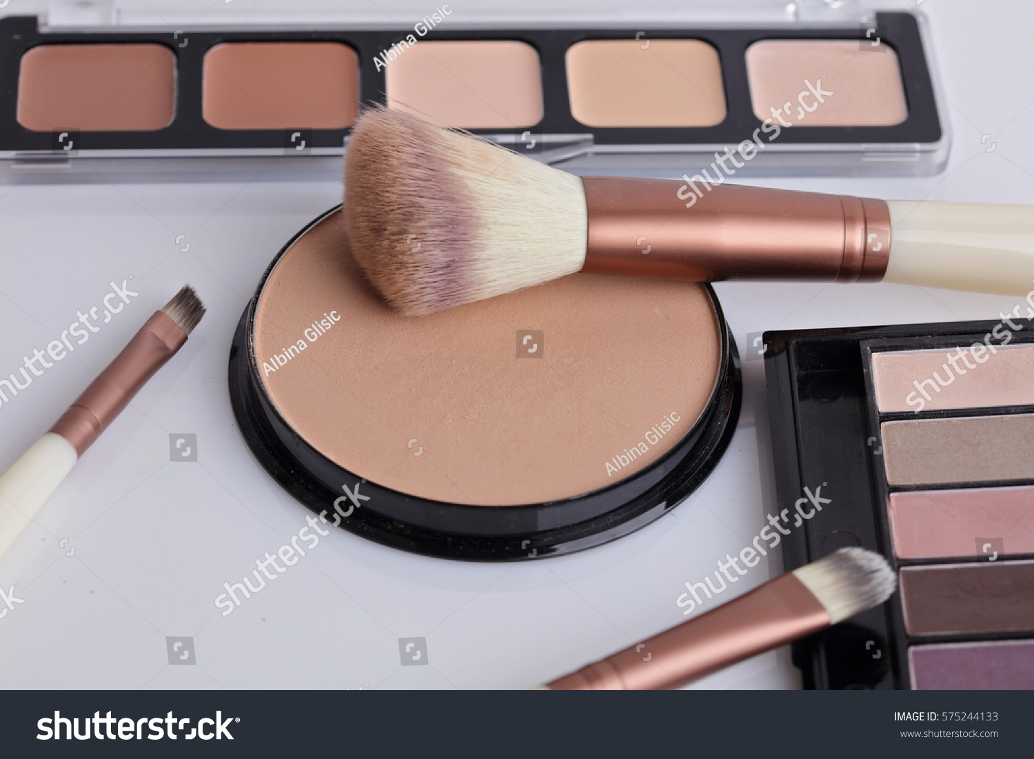 Foundation and compact powder