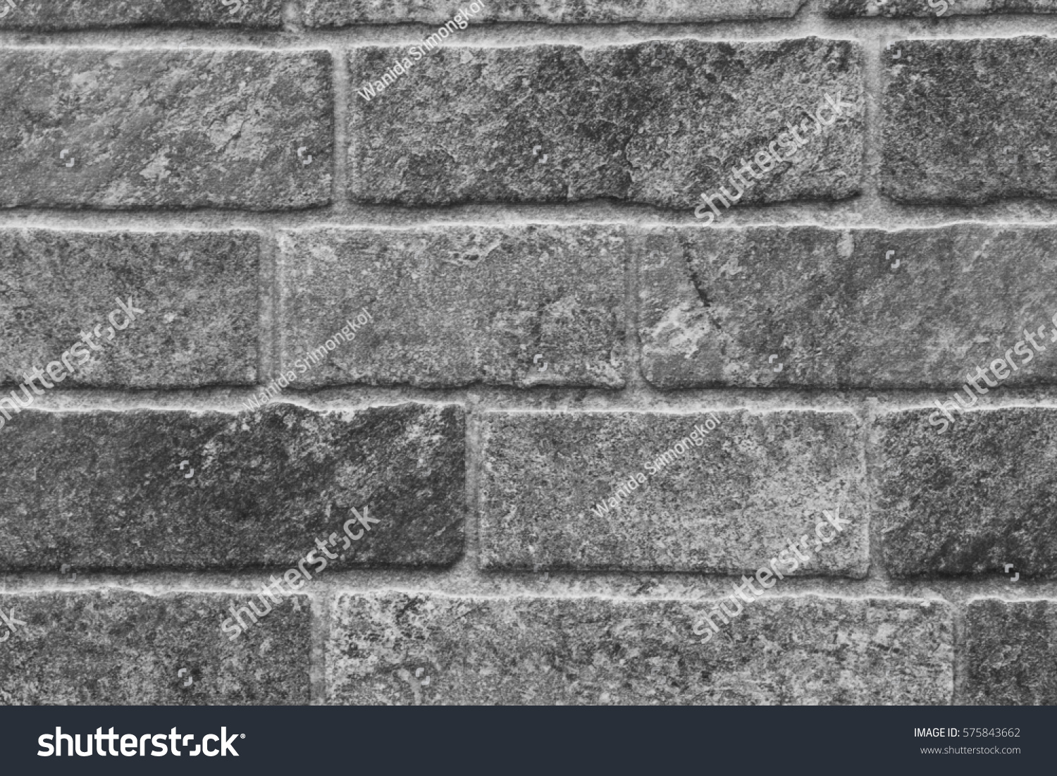 Ceramic tile brick wall pattern design stock photo 575843662 the ceramic tile in brick wall pattern design with dark grey tone dailygadgetfo Gallery