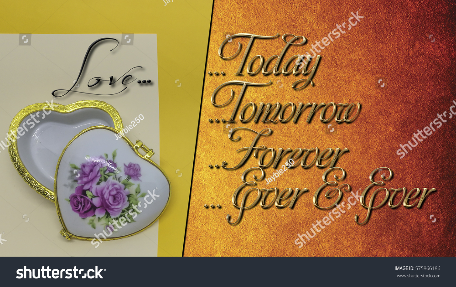 Love Phrases With Word Today Tomorrow Forever Ever And Ever With