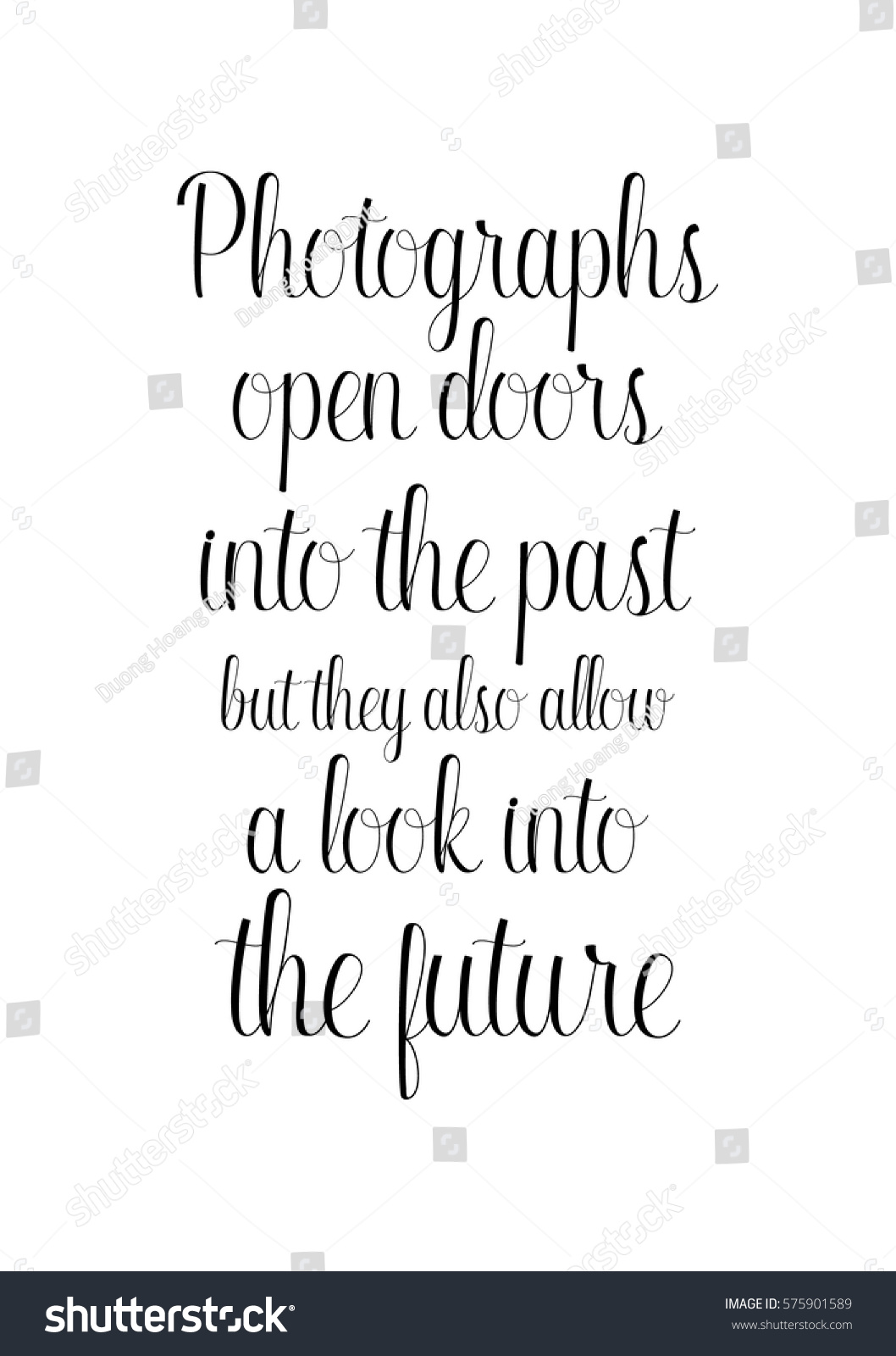 Isolated Calligraphy On White Background Quote Stock Vector 575901589    Shutterstock