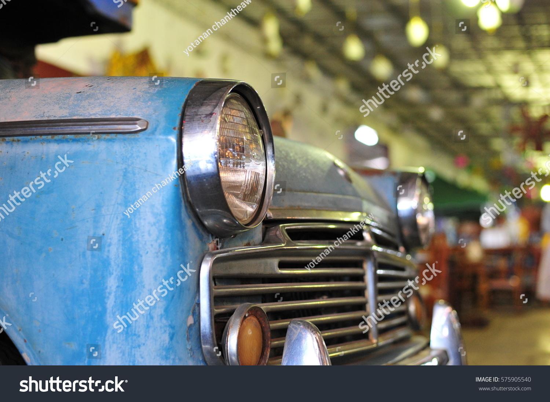 Old Retro Vintage Car Classic Vehicle Stock Photo 575905540 ...