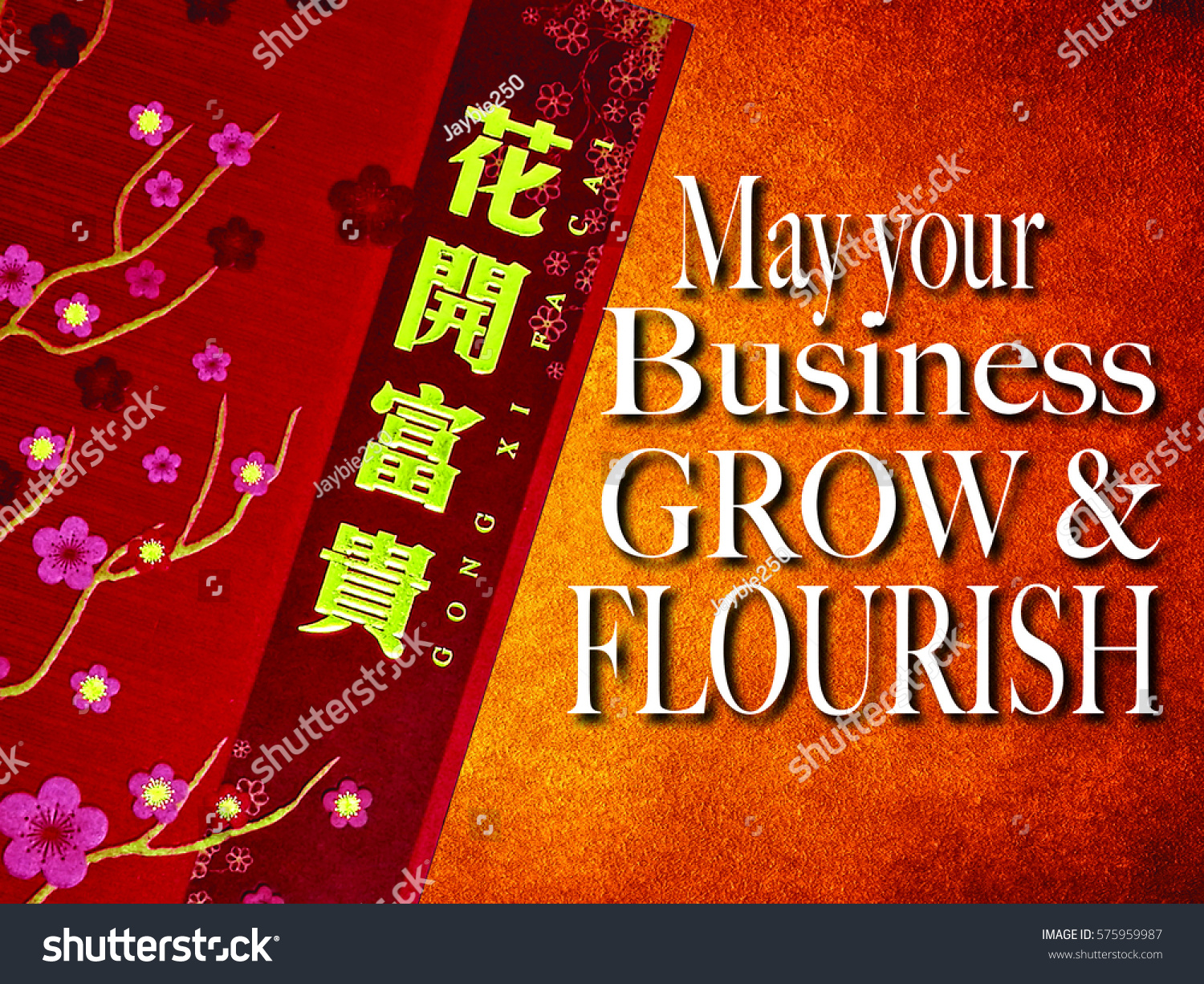 Chinese new year greetings blessing good stock illustration chinese new year greetings blessing for good health and wishes may your business m4hsunfo