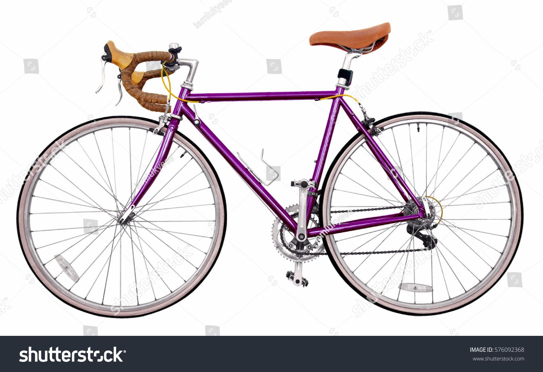 Royalty-free Vintage race road bike /purple bicycle… #576092368 ...