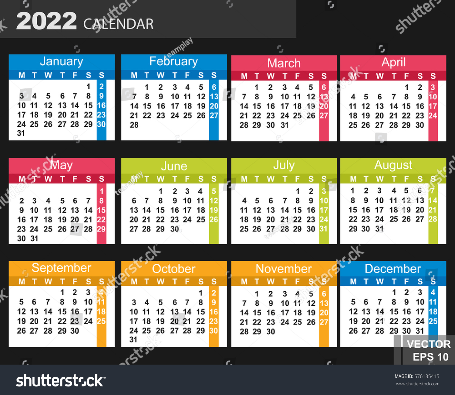 Calendar Design Date : Calendar new year date your stock vector