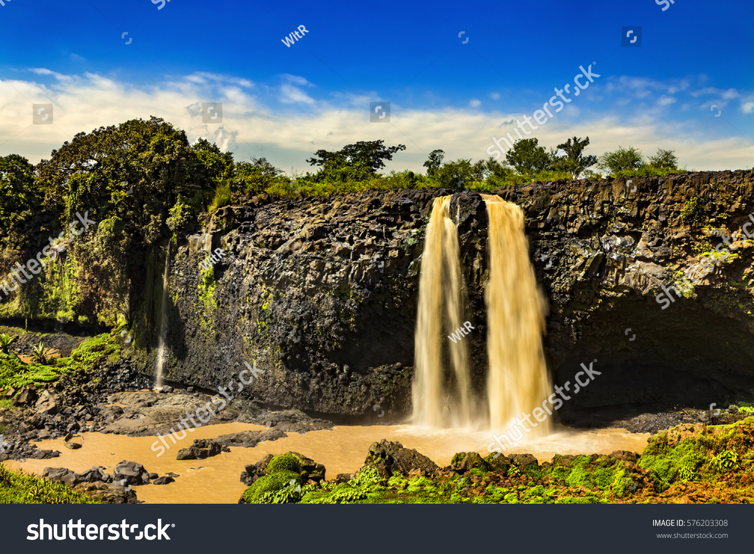Ethiopia Blue Nile Falls Tis Abay Stock Photo Edit Now 576203308