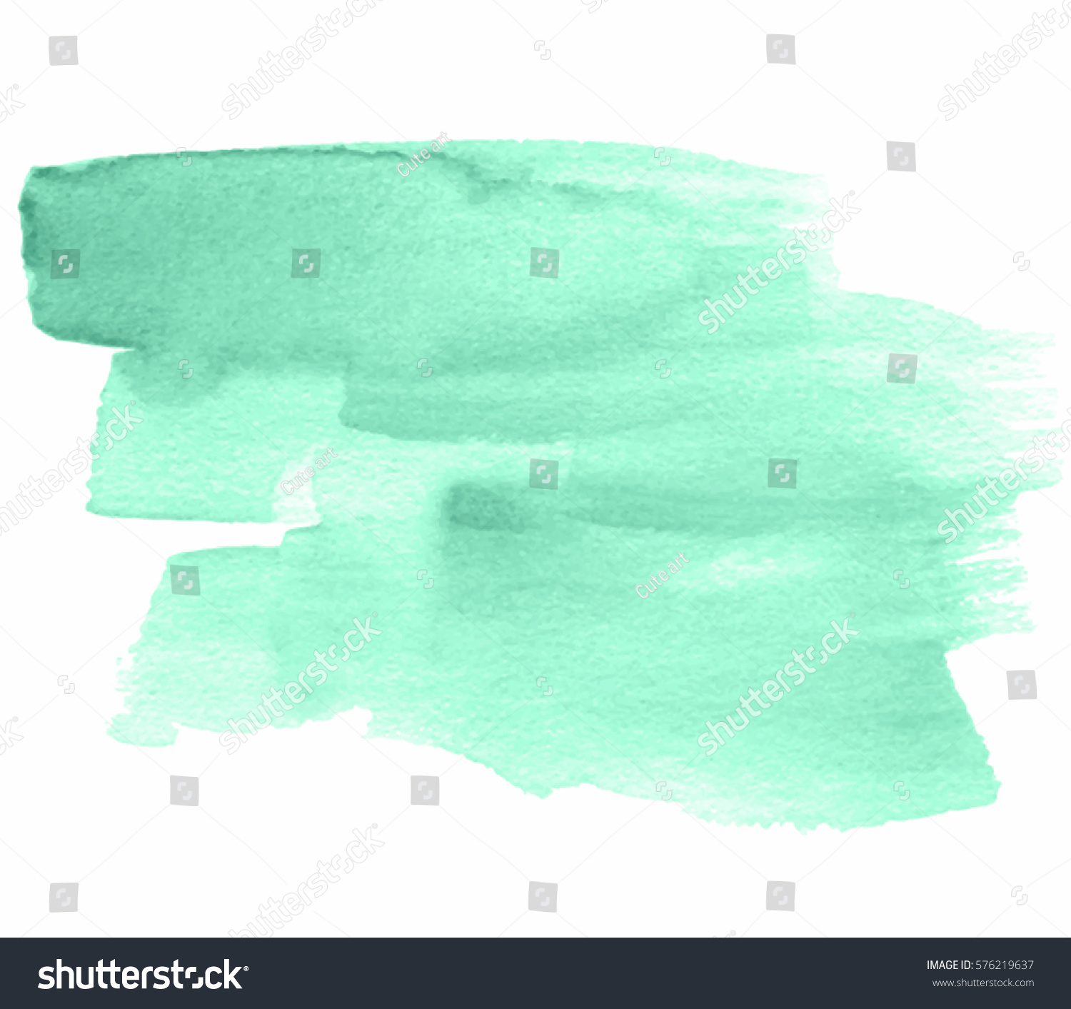 Abstract Aquarelle Brush Paint Paper Texture Stock Vector (Royalty ...