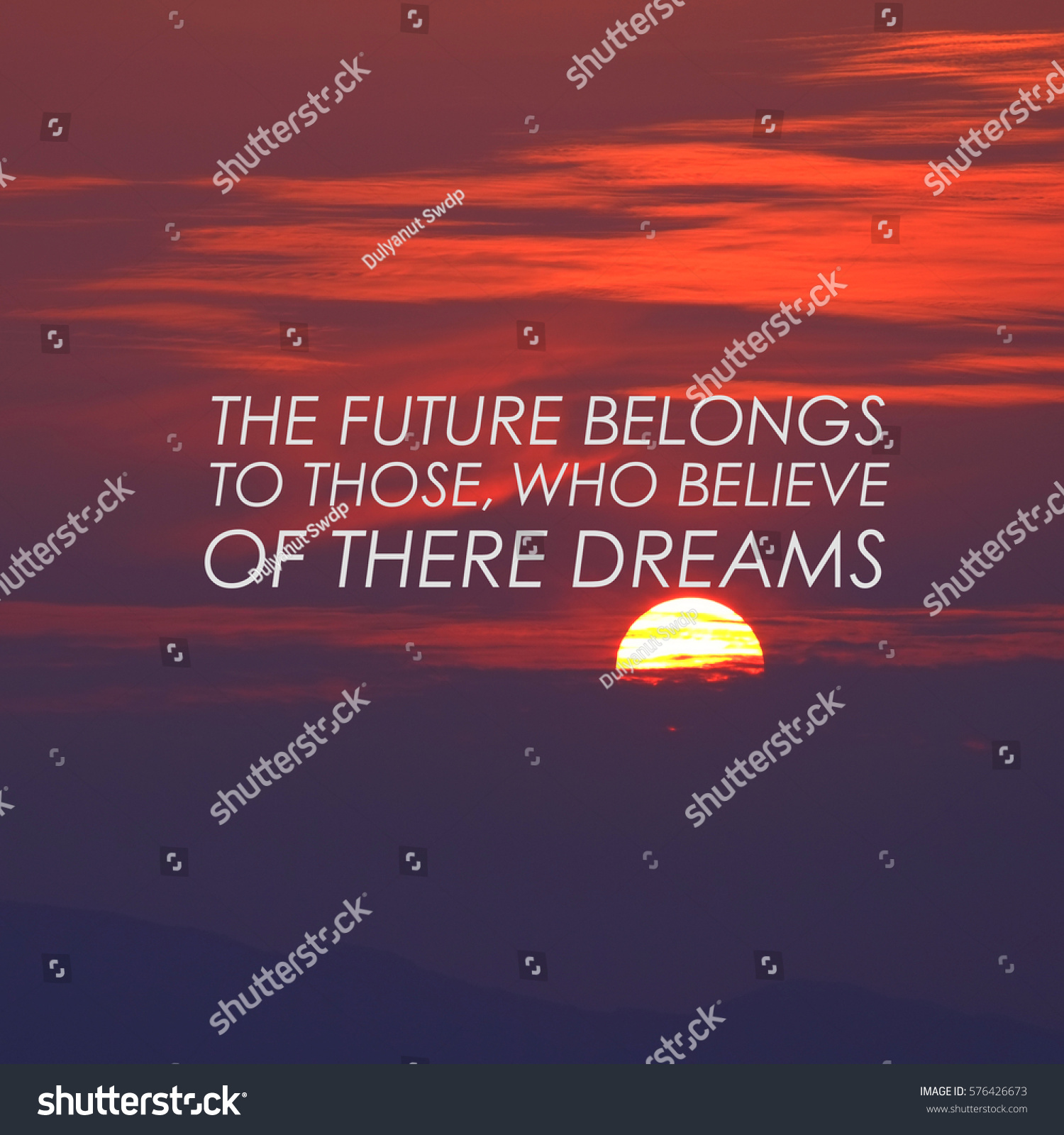 Motivational Quote Create Future On Nature Stock Photo 576426673    Shutterstock