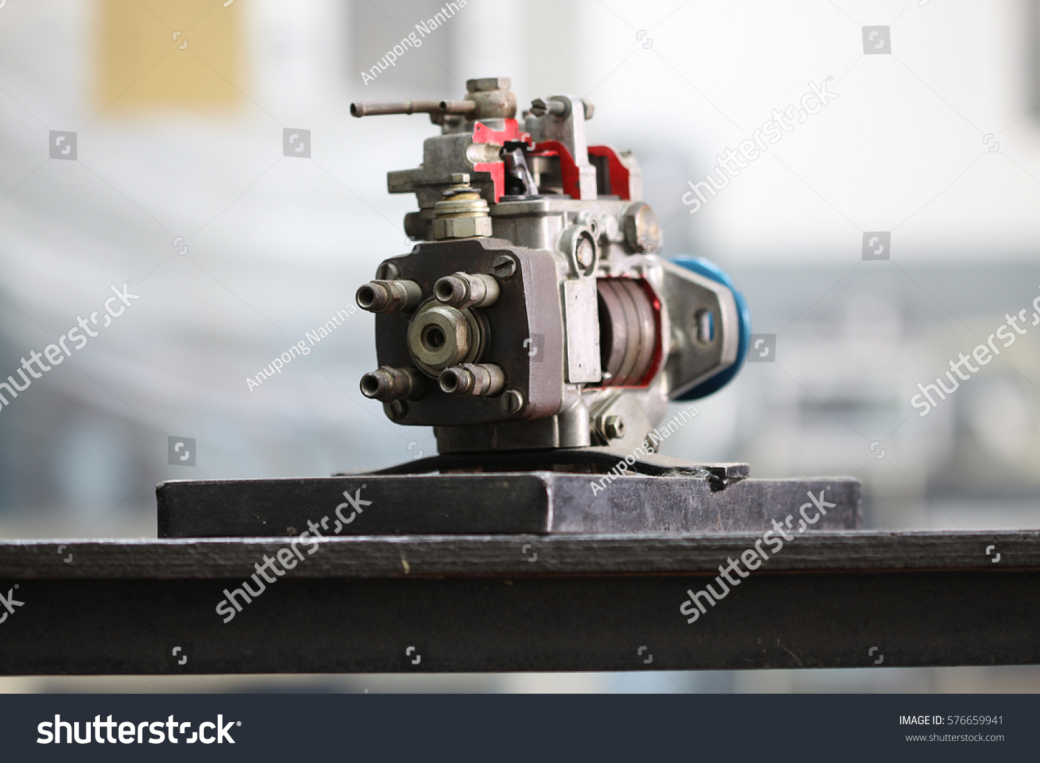 Diesel Pump Prepare Workshop Repair Service Stock Photo (Edit Now