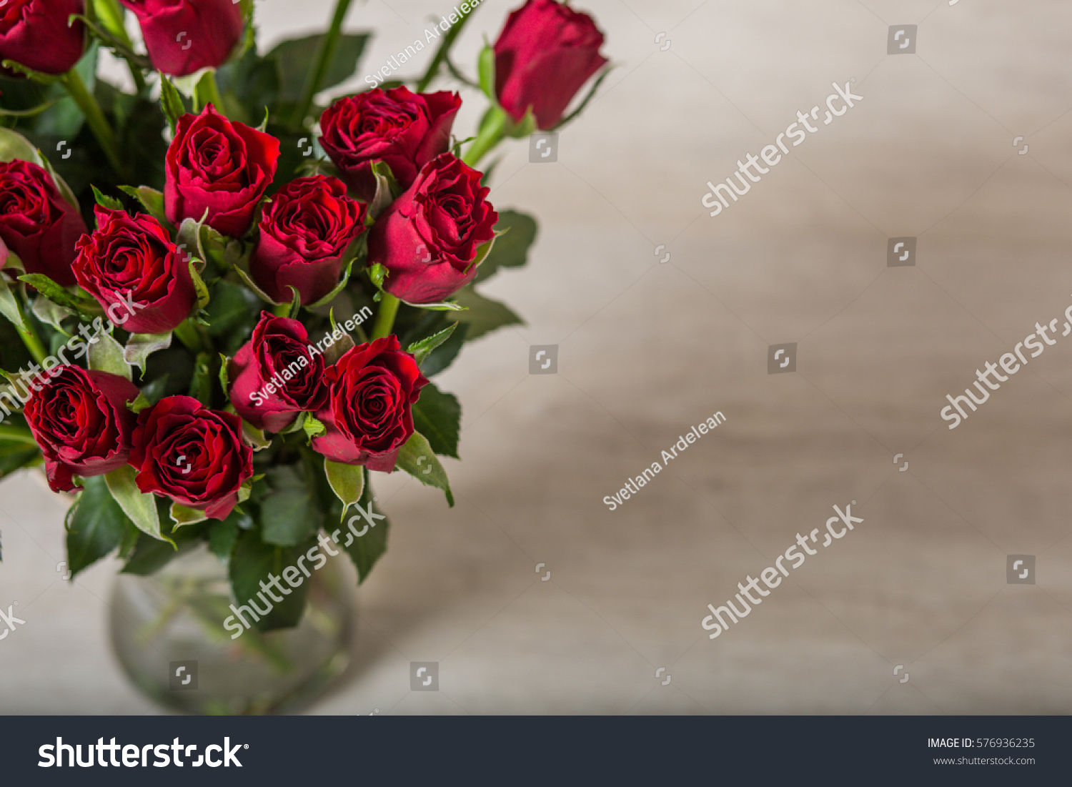 Top view of beautiful and delicate roses on wooden background ez top view of beautiful and delicate roses on wooden background ez canvas izmirmasajfo