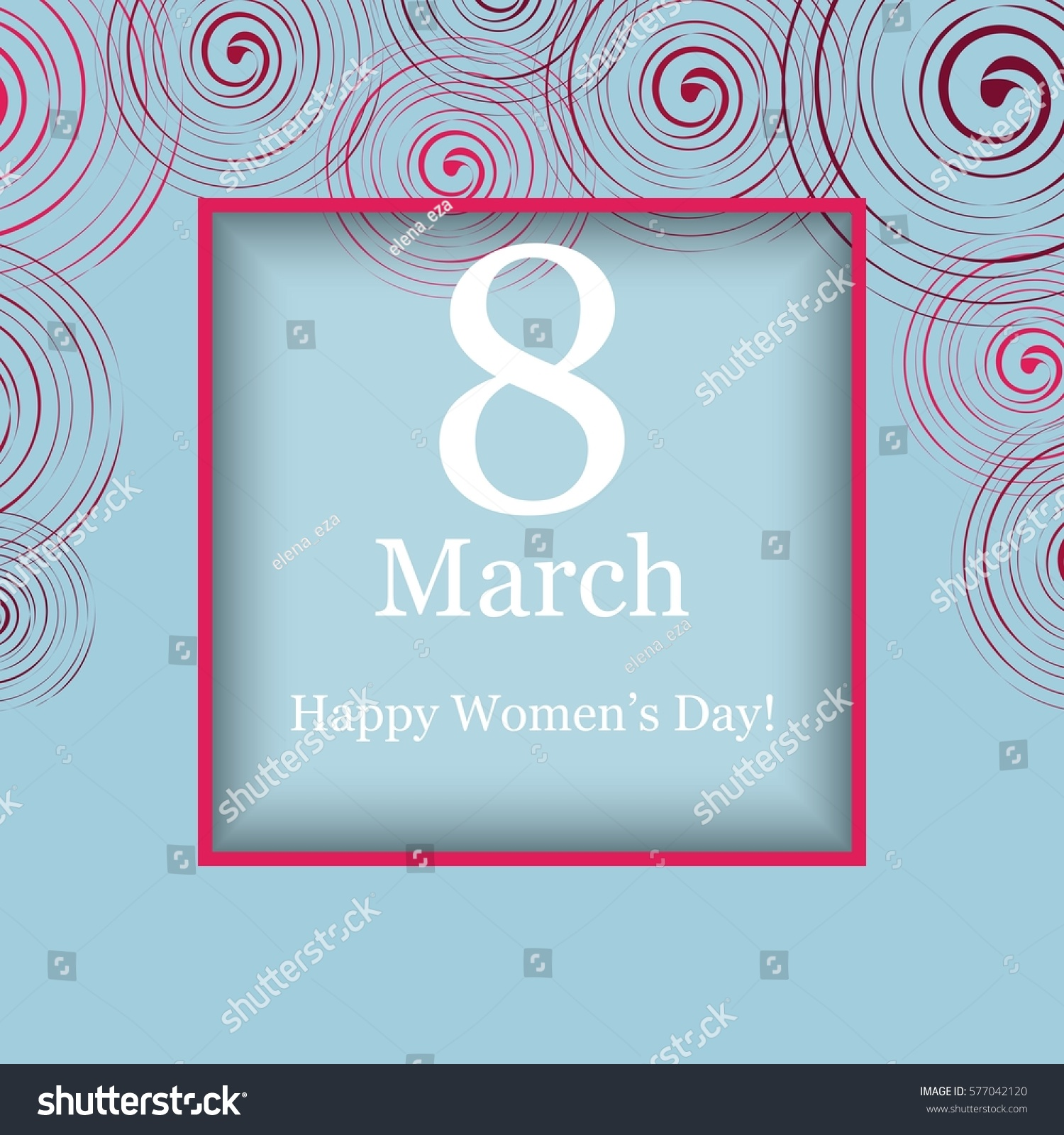 8 march card vector card international stock vector 577042120 8 march card vector card for international womens day also template can be used kristyandbryce Images