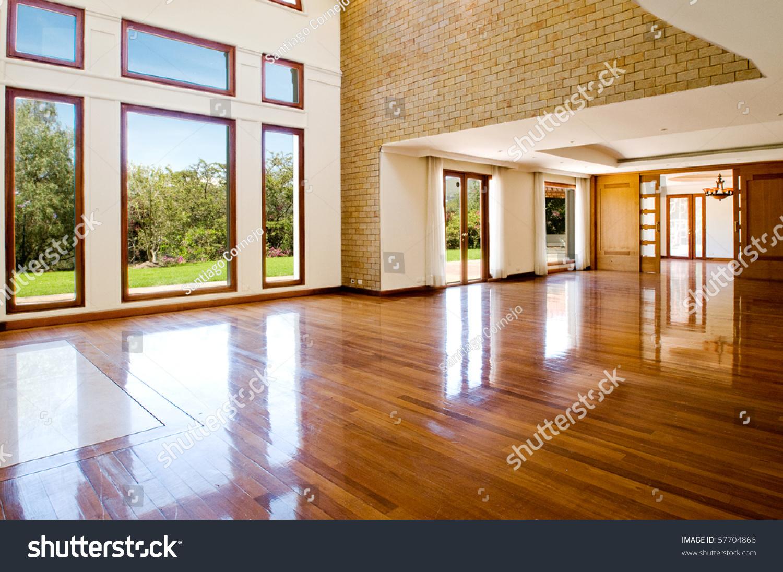 Big empty living room -