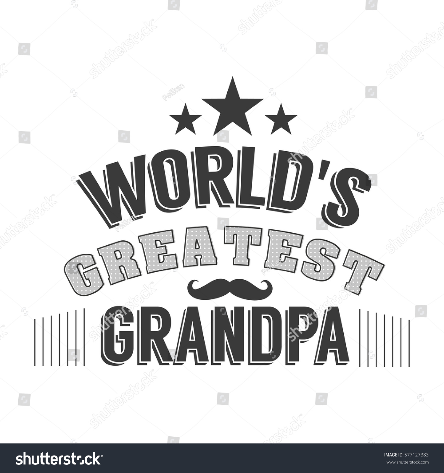Worlds Best Quotes Isolated Grandparents Day Quotes On White Stock Vector 577127383