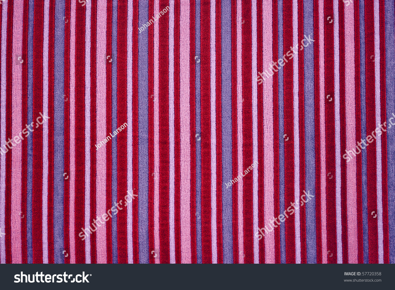 A Funky Red Striped Background Or Texture Stock Photo ...