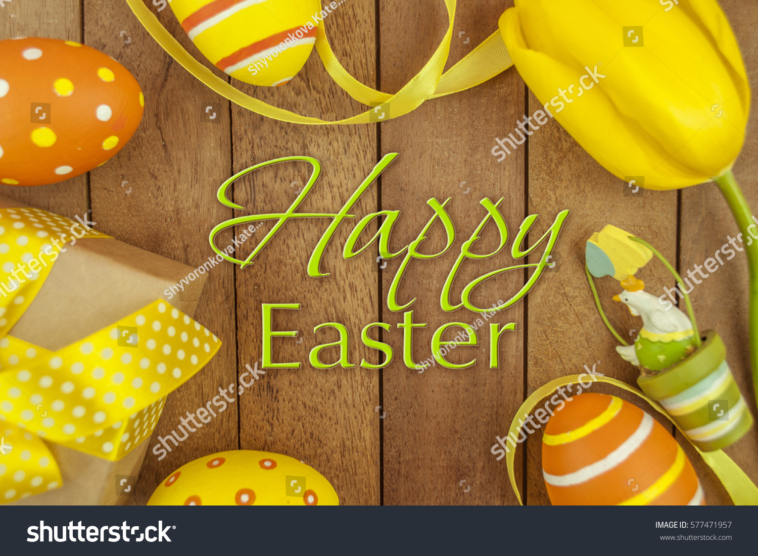 Tulips gift box easter background stock photo 577471957 shutterstock tulips and gift box easter background negle Gallery