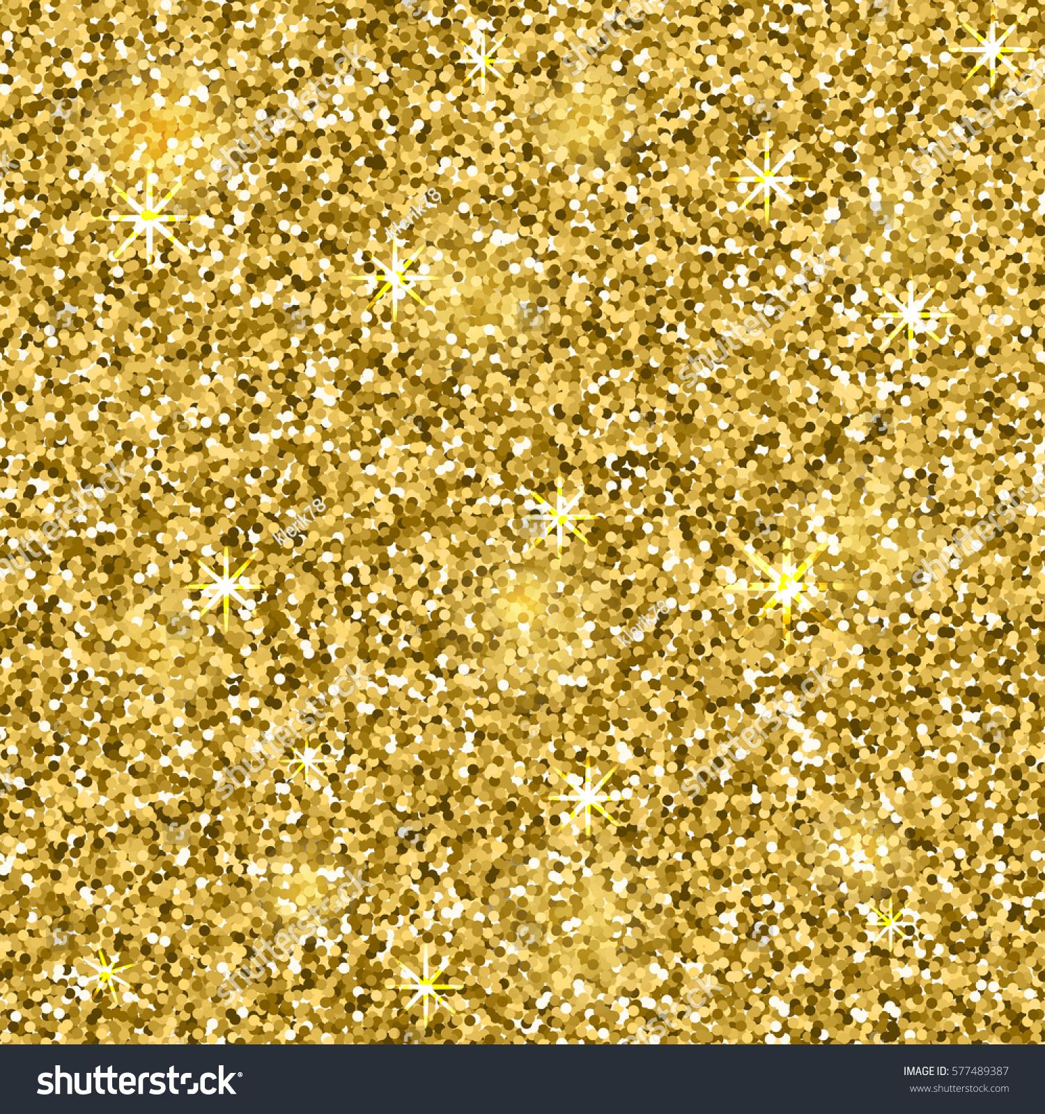 gold glitter background golden sparkles on border template for holiday designs invitation
